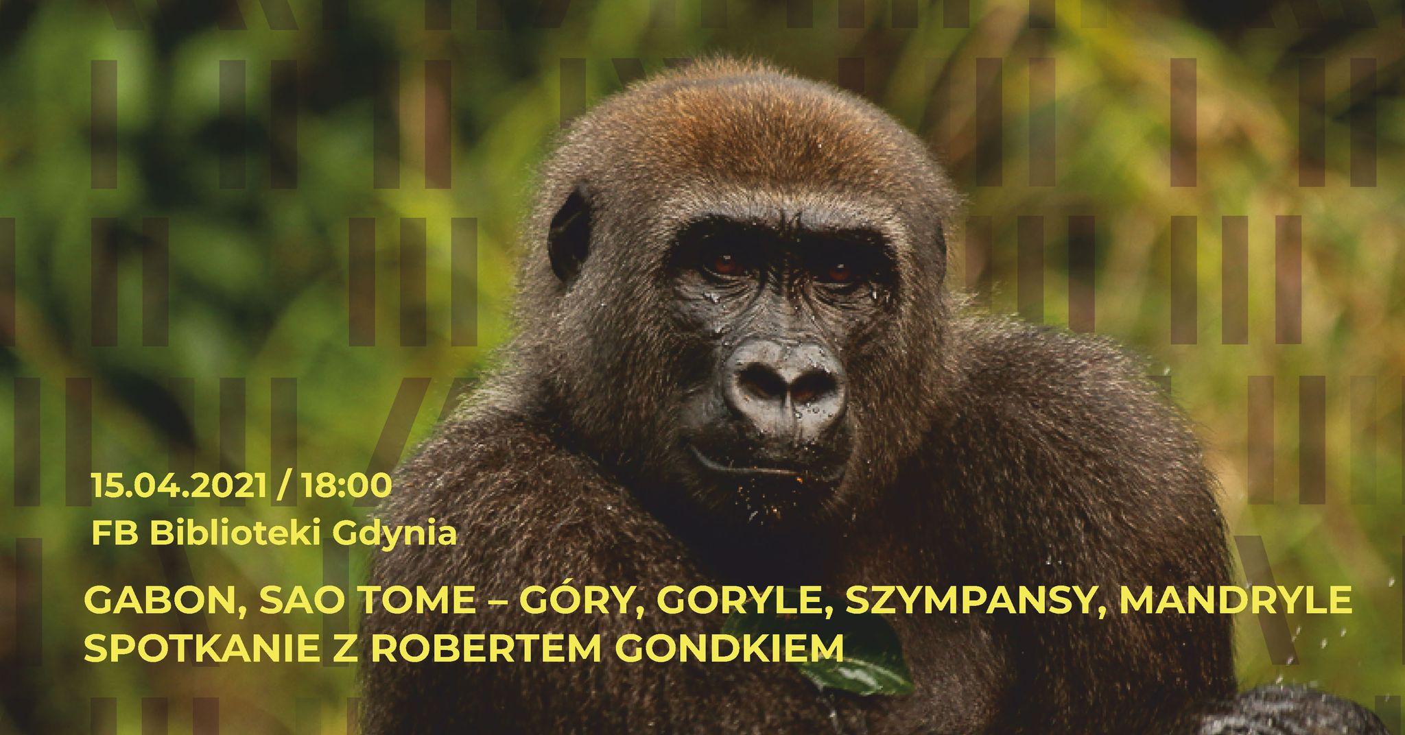 Afryka z Robertem Gondkiem, źródło: Biblioteka Gdynia