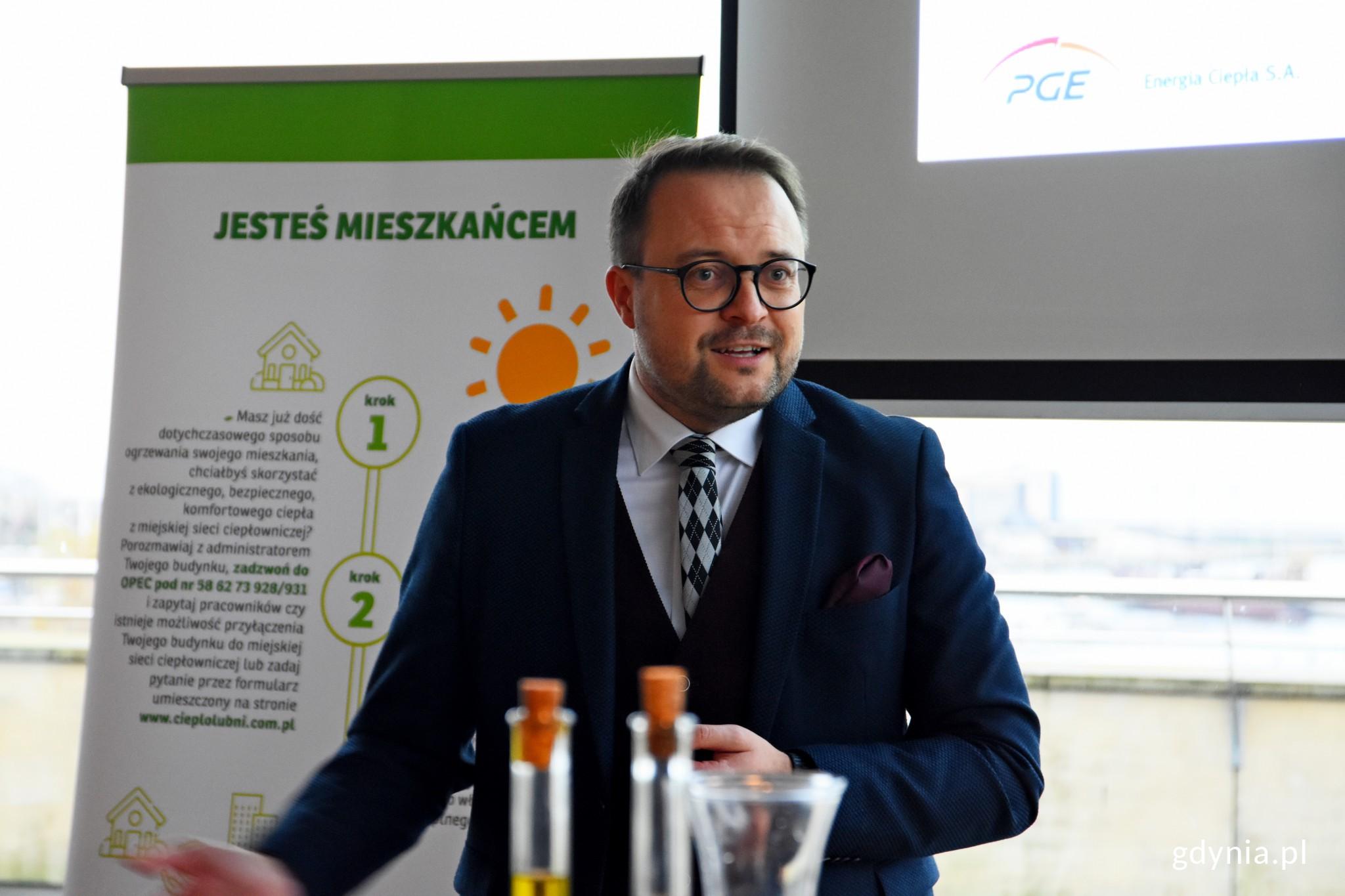 Spotkanie otworzył wiceprezydent Marek Łucyk // fot. Paweł Kukla