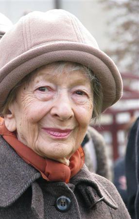 Wisława Szymborska, fot. Mariusz Kubik (wikipedia.org)