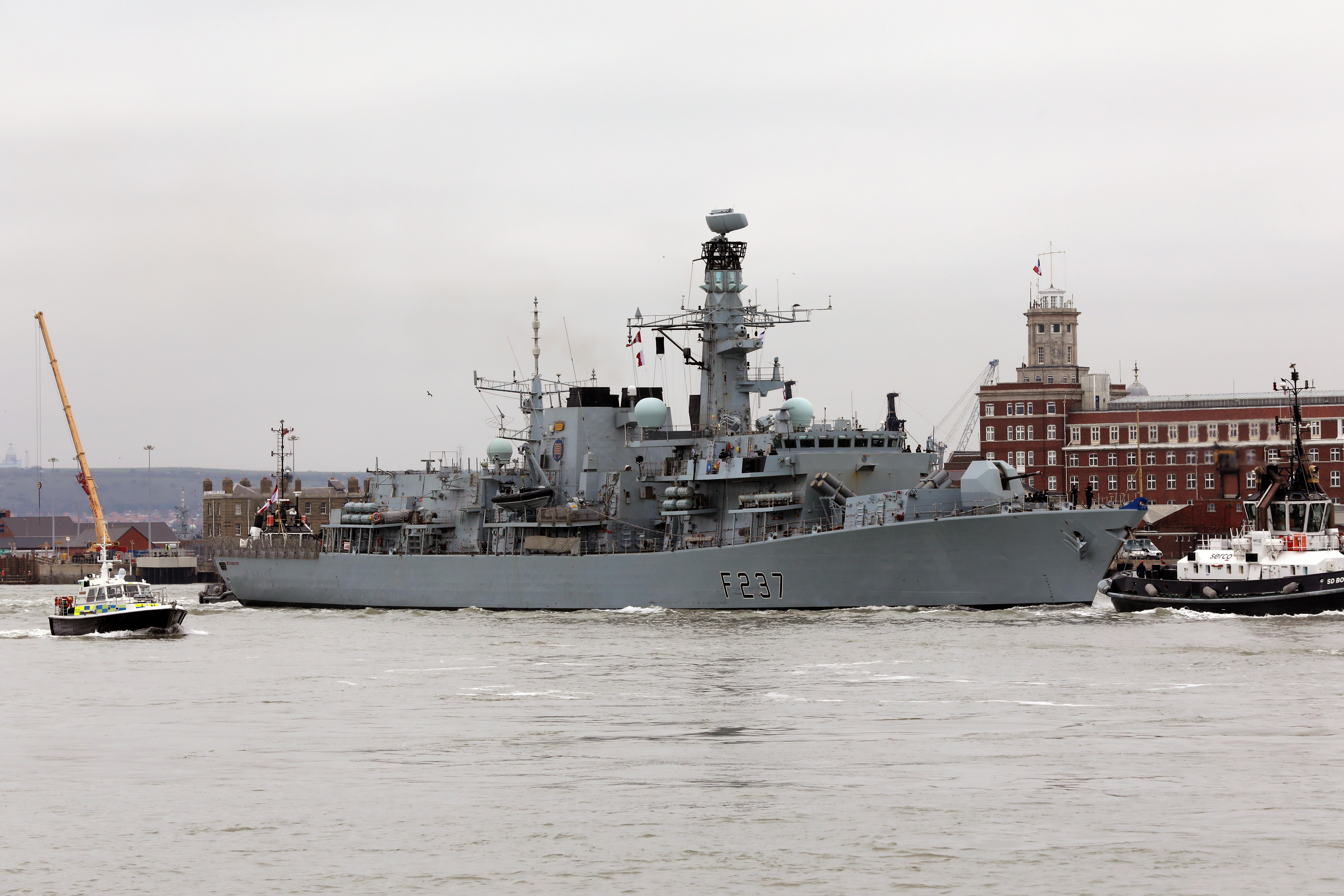 HMS Westminster, fot. PO Phot / Dave Jenkins