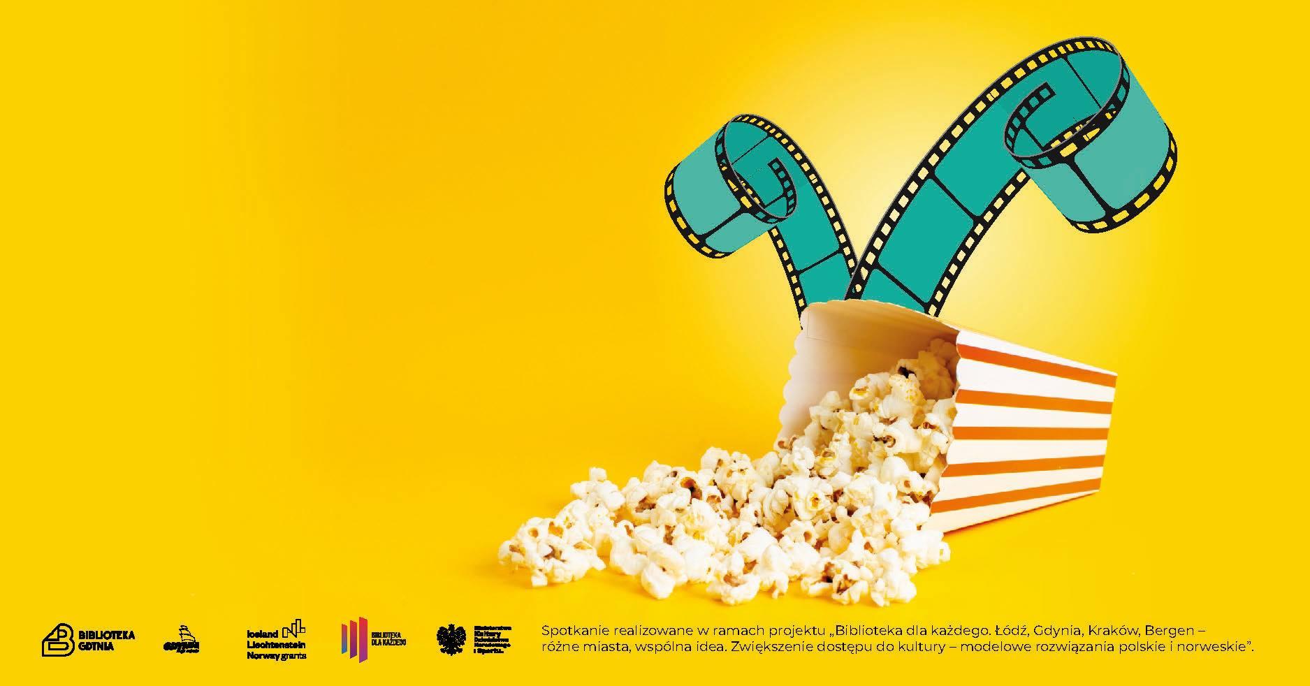 Razem przy popcornie - seans filmowy Biblioteki Gdynia