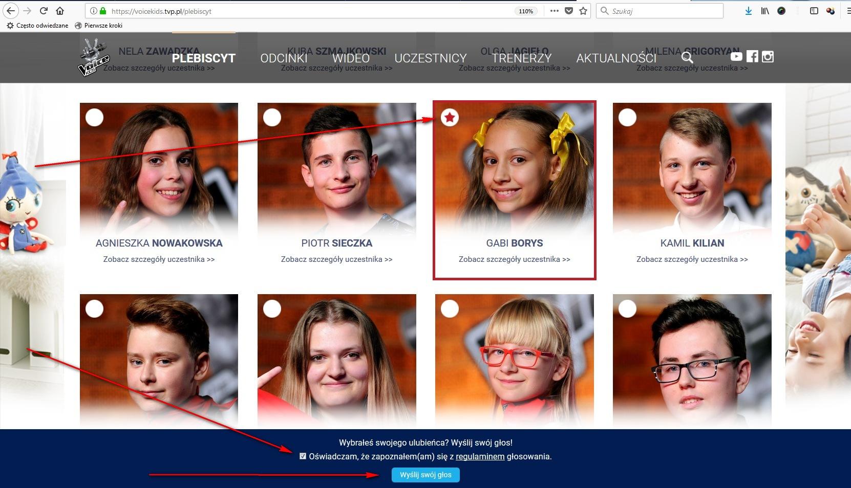 The Voice Kids - jak głosować w plebiscycie publiczności