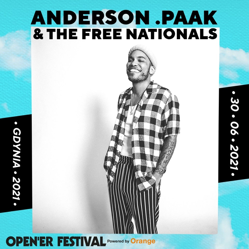 ANDERSON .PAAK & THE FREE NATIONALS, mat. prasowe