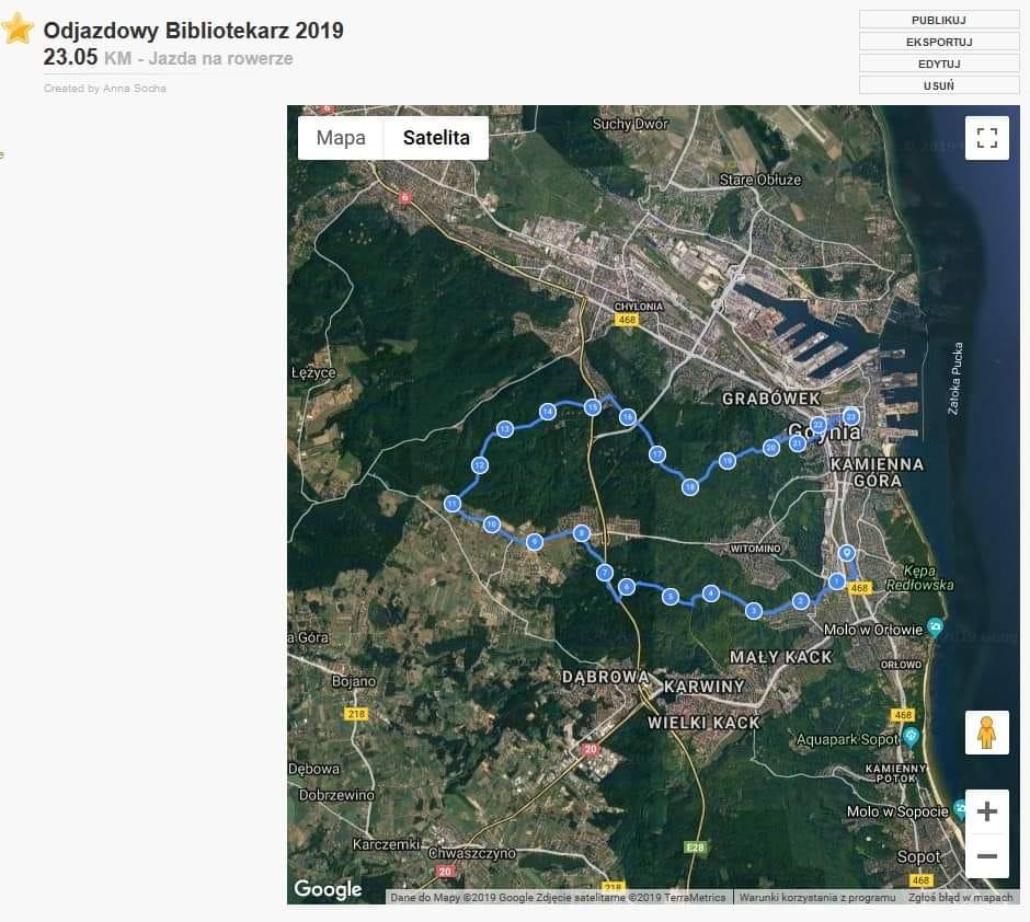 Mapka poglądowa trasy // materiały prasowe