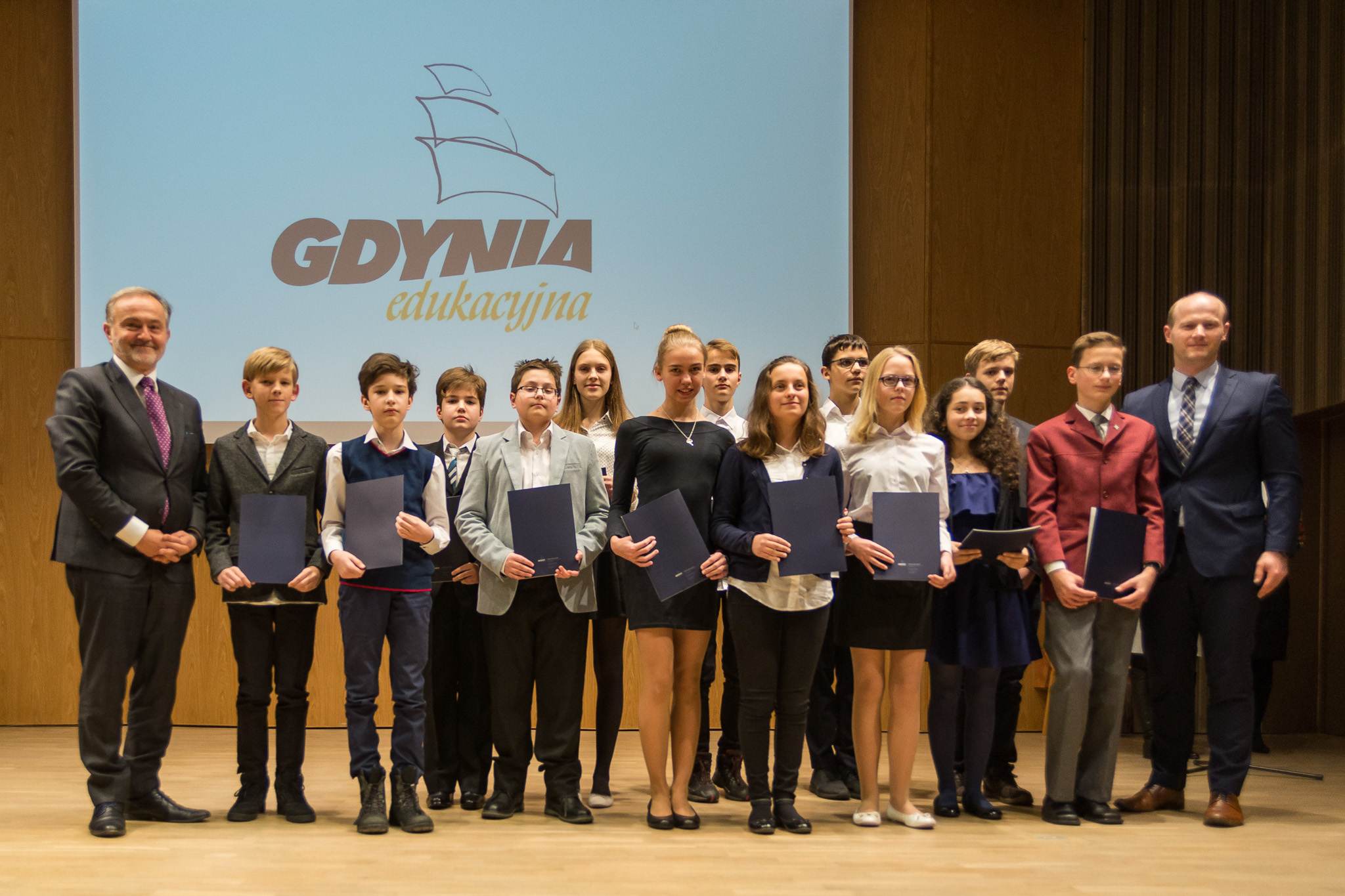 Nagrodzeni uczniowie podstawówek, fot. Anna Bobrowska