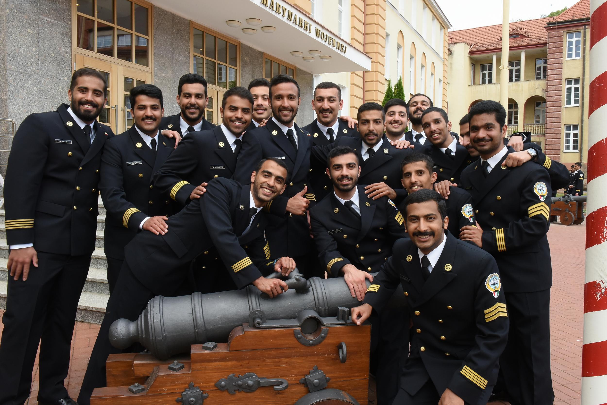 Studenci AMW z Kuwejtu, fot. AMW