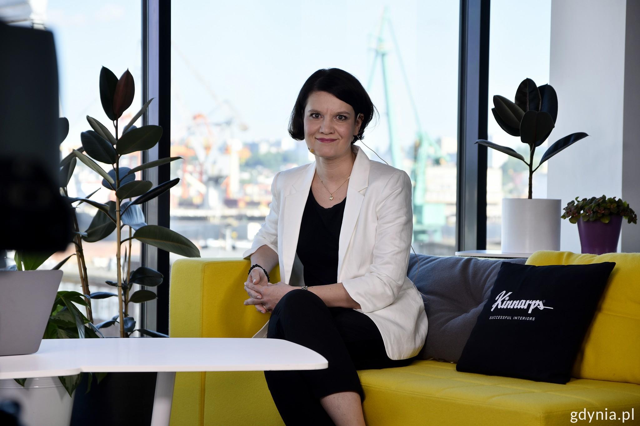 Gościem panelu otwierającego była wiceprezydent Gdyni - Katarzyna Gruszecka-Spychała // fot. Paweł Kukla