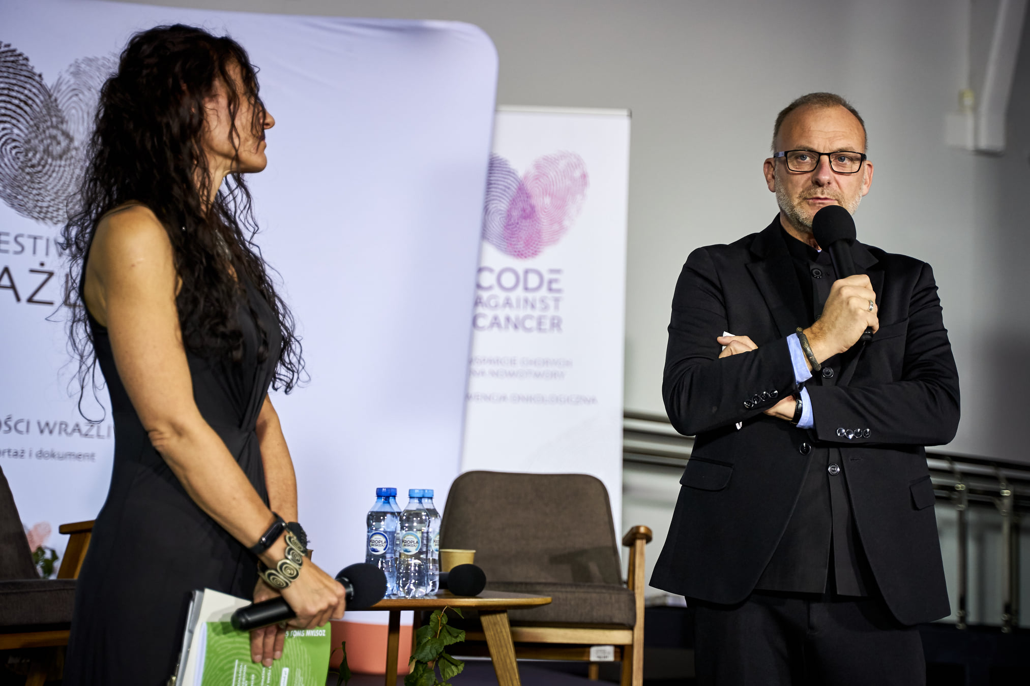 Na zdj. wiceprezydent Michał Guć podczas gali, fot. organizatora/FB