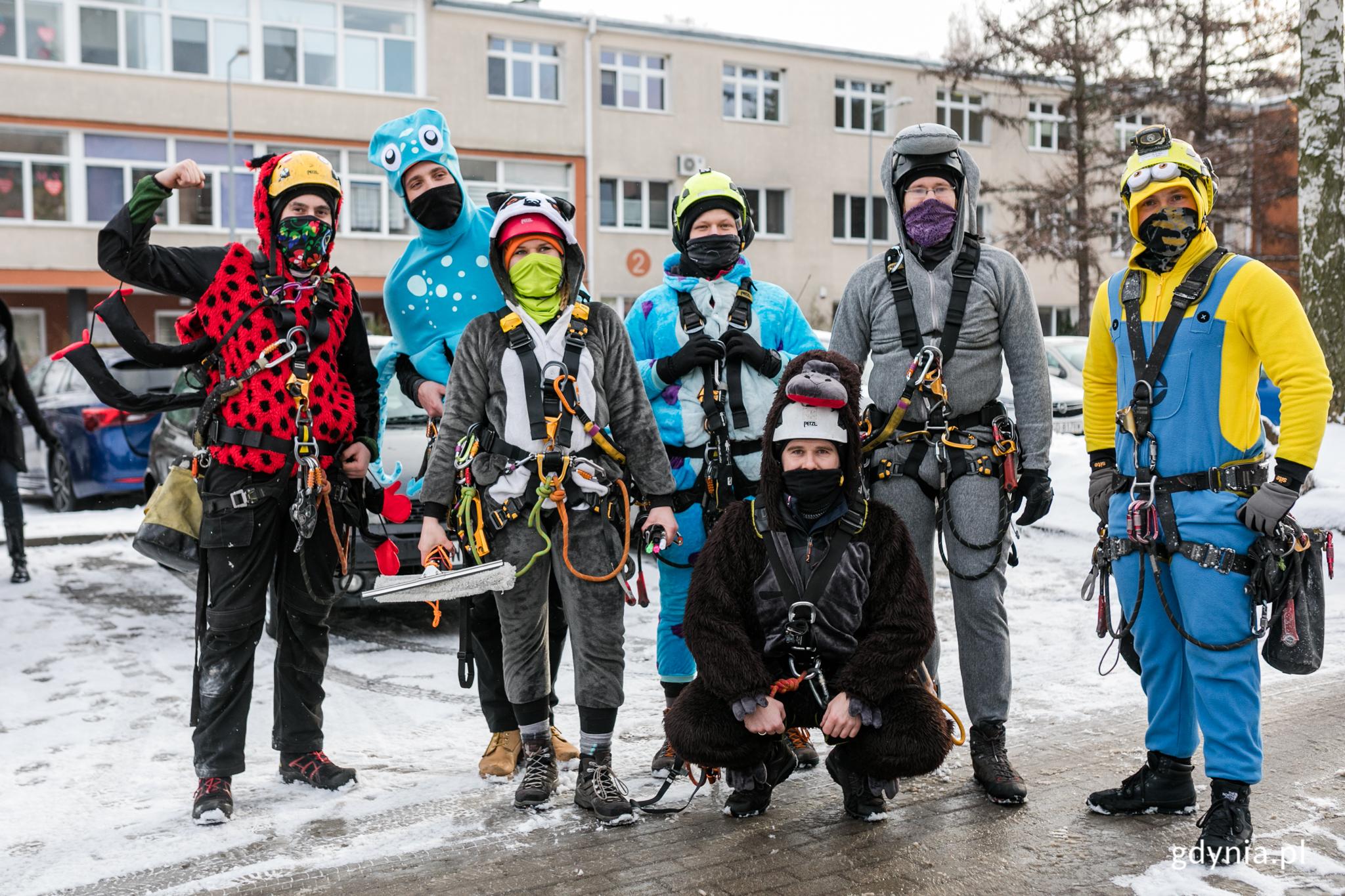 Alpiniści dla WOŚP w Gdyni, fot. Karol Stańczak