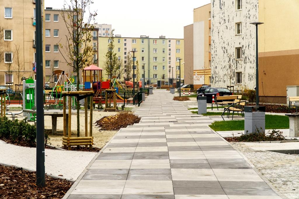 Nowa jakość przestzreni publicznych na osiedlu Zamenhofa, fot. LIS