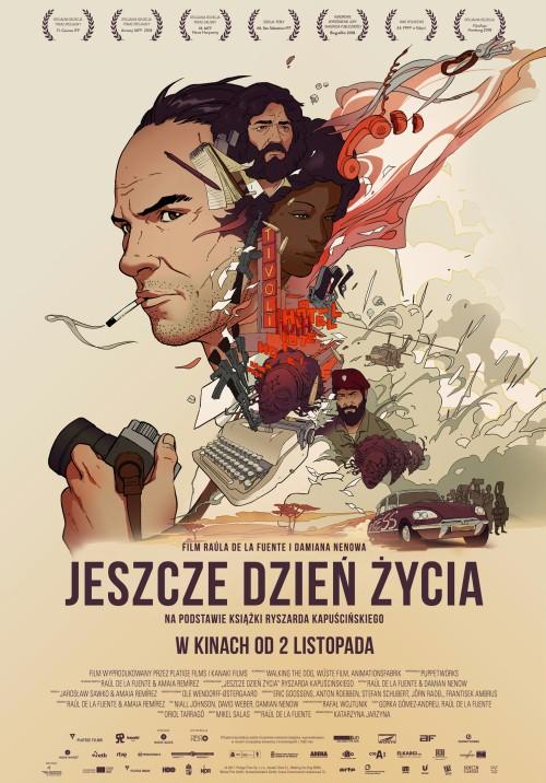 Plakat filmu Jeszcze dzień życia