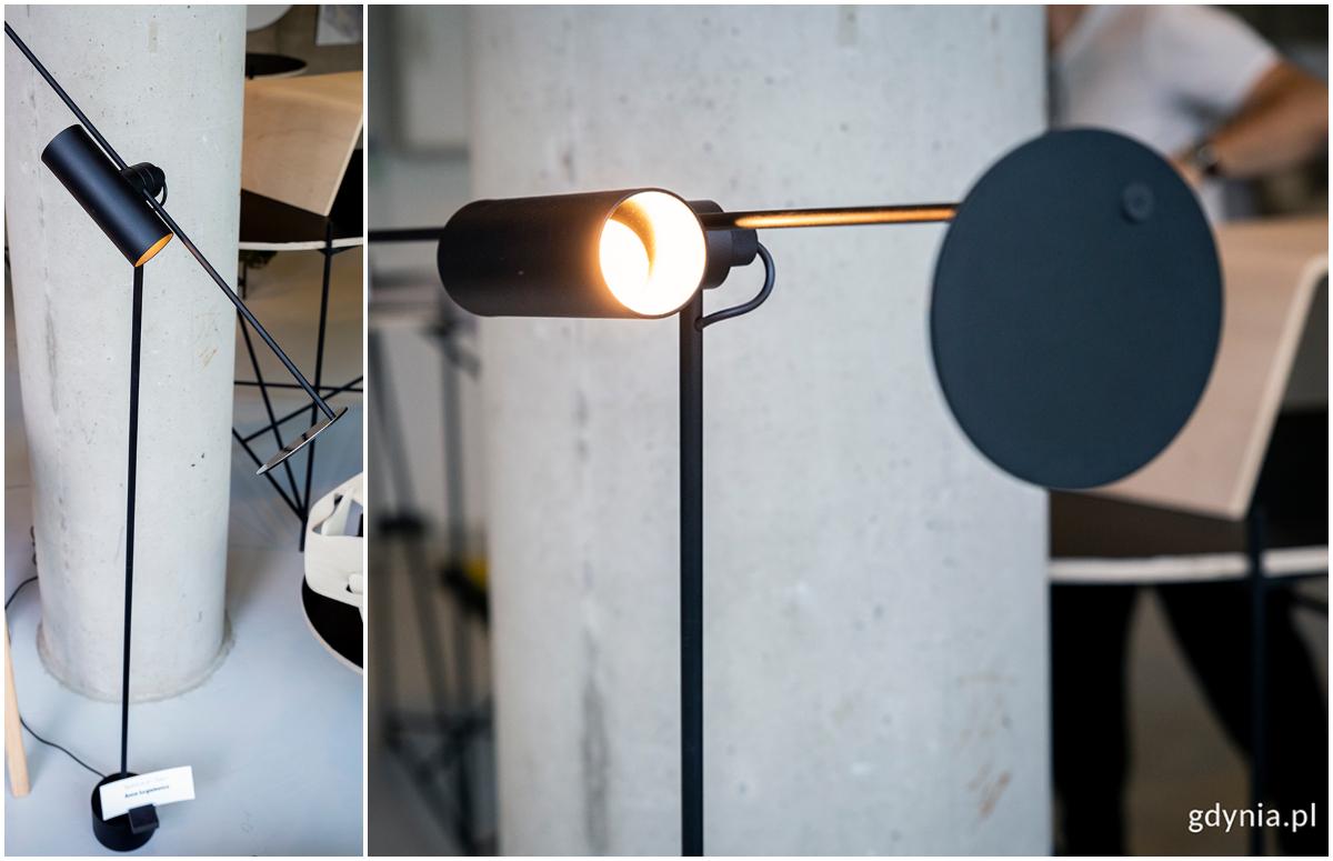 """Nagrodzony projekt lampa """"Space as an Object"""" Anny Jurgielewicz. Fot. Przemysław Kozłowski"""