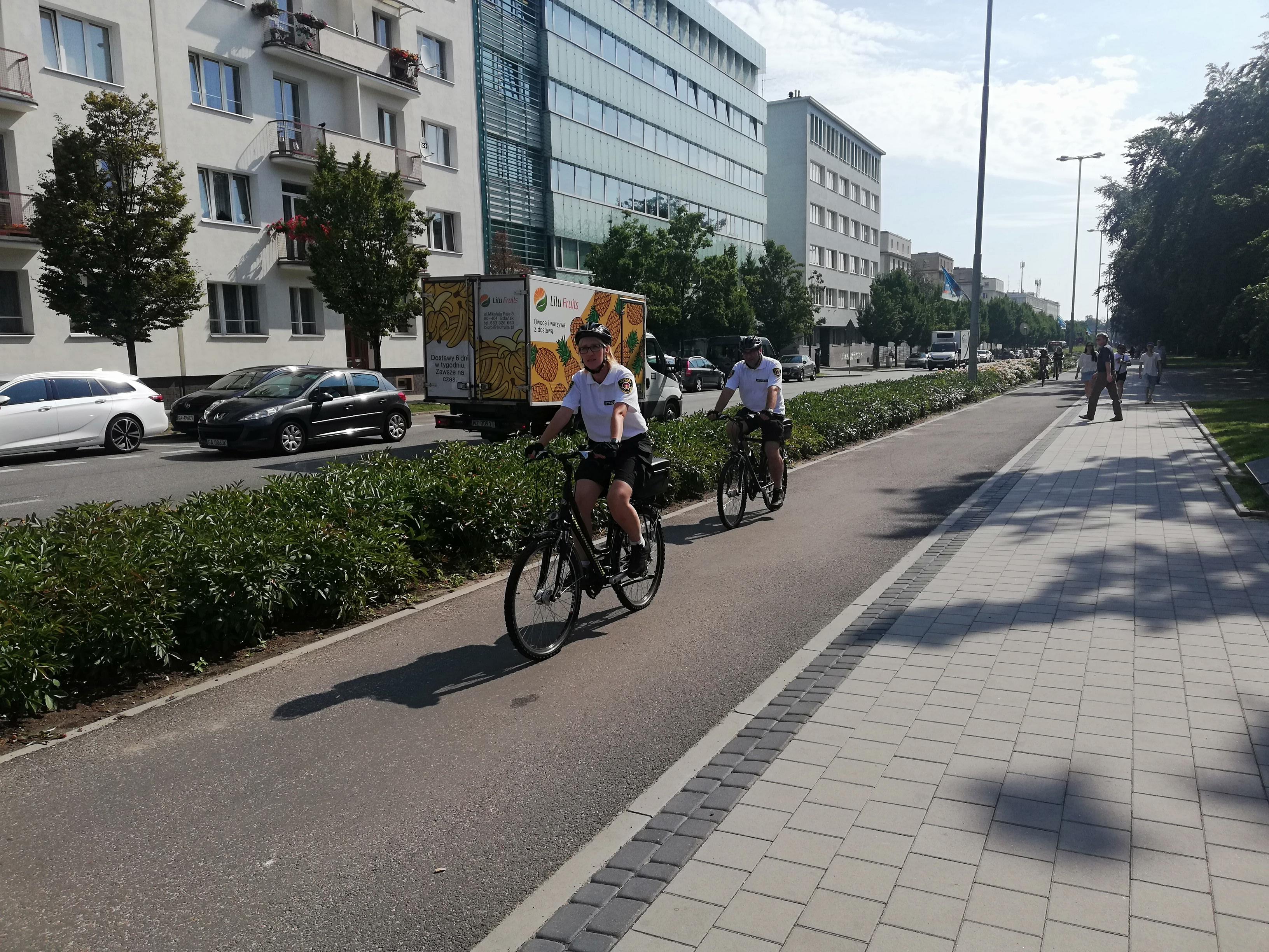 Patrol Rowery w Gdyni // fot. Straż Miejska w Gdyni