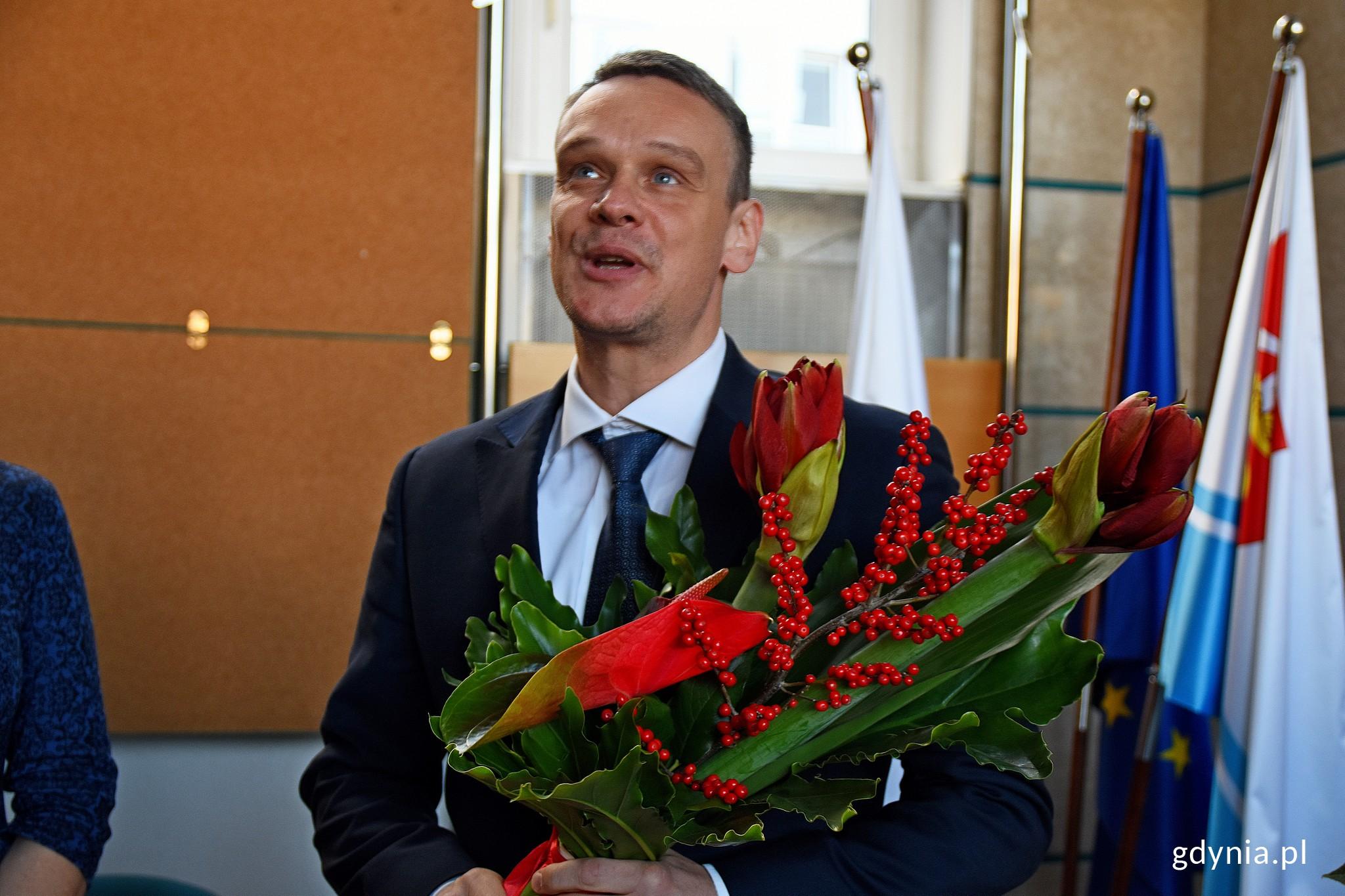 wiceprzewodniczący Rady Miasta - Marcin Wołek // fot. Paweł Kukla