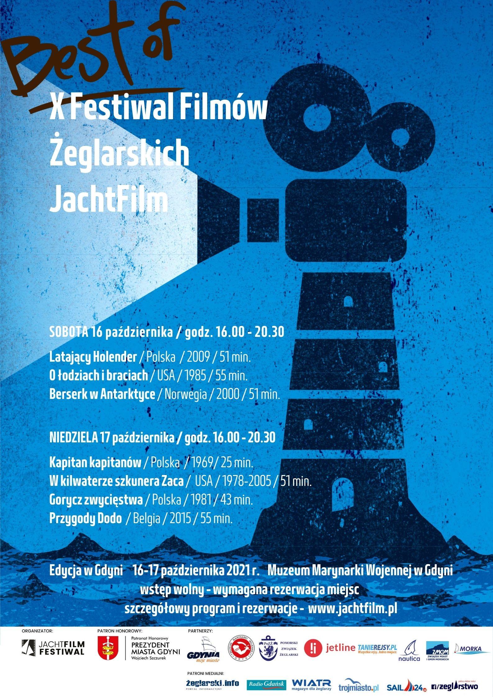 Program festiwalu JachtFilm 2021