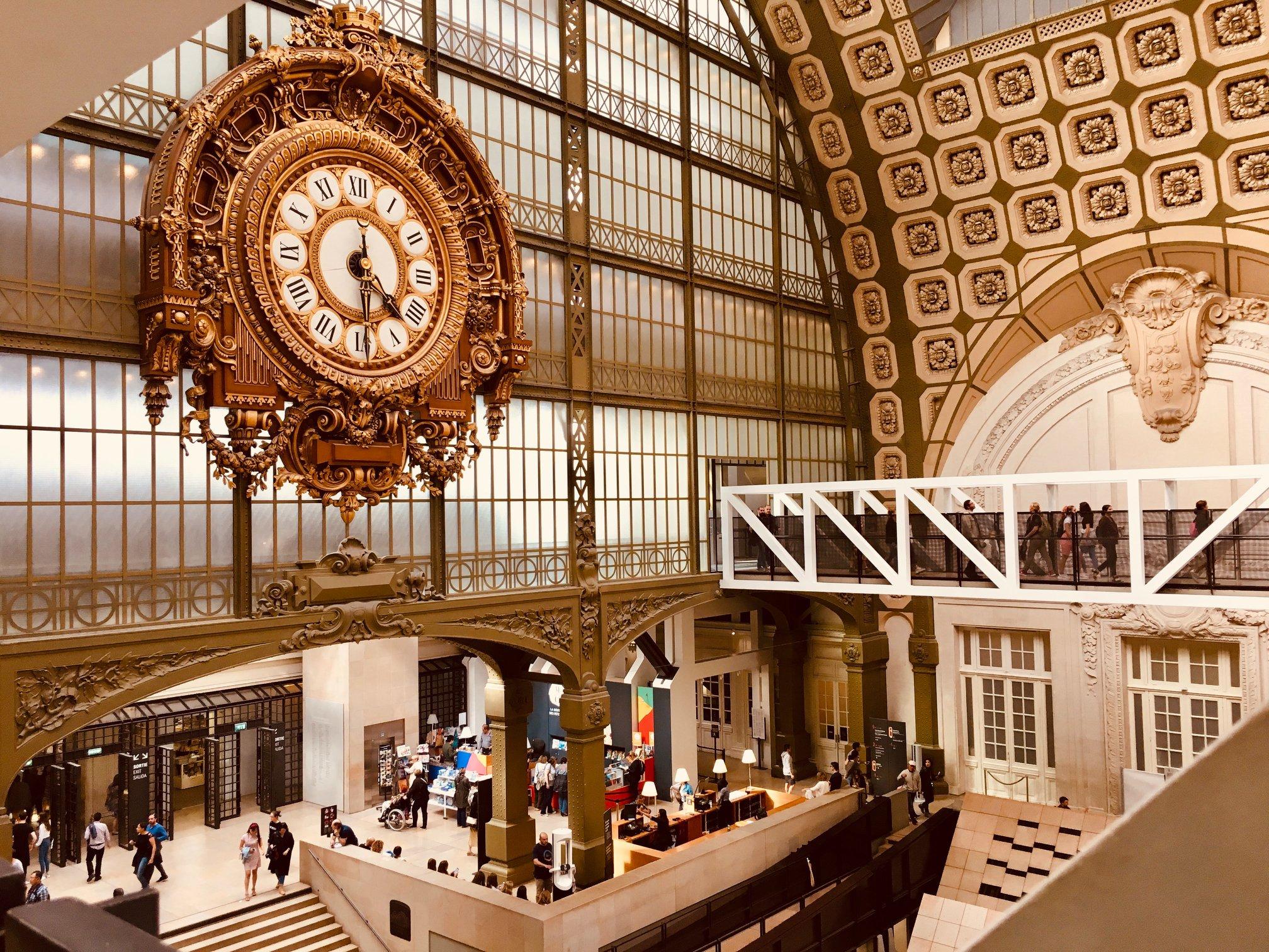Musée d'Orsay, fot. Armand KhouryUnsplash.com, źródło: Biblioteka Gdynia