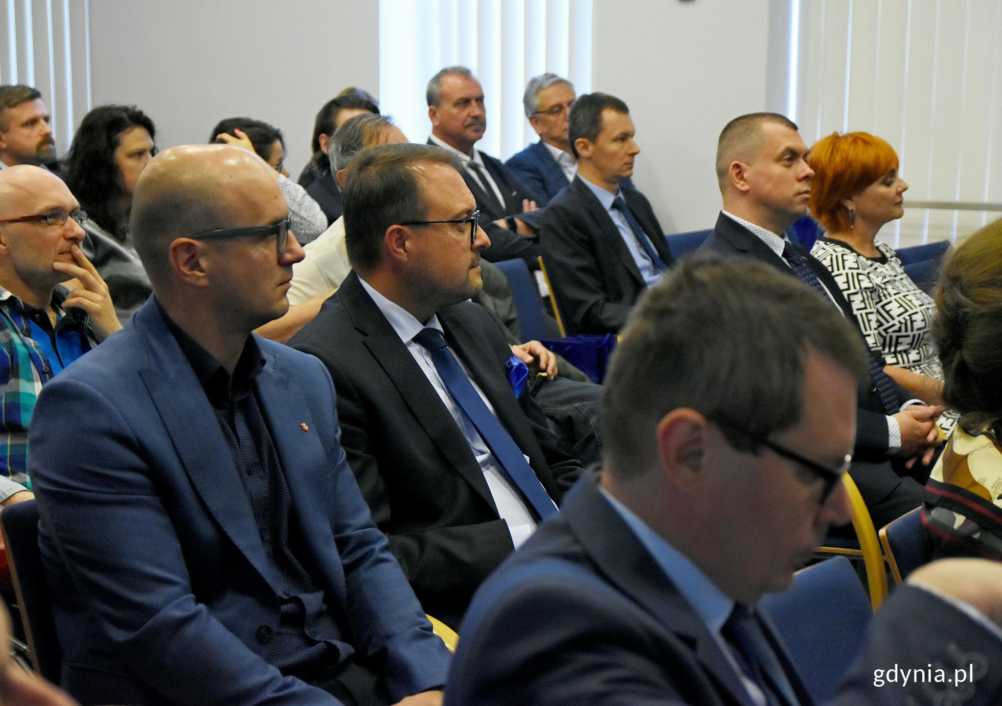 W konferencji z ramienia miasta uczestniczył też wiceprezydent Gdyni ds. rozwoju, Marek Łucyk, fot. Kamil Złoch