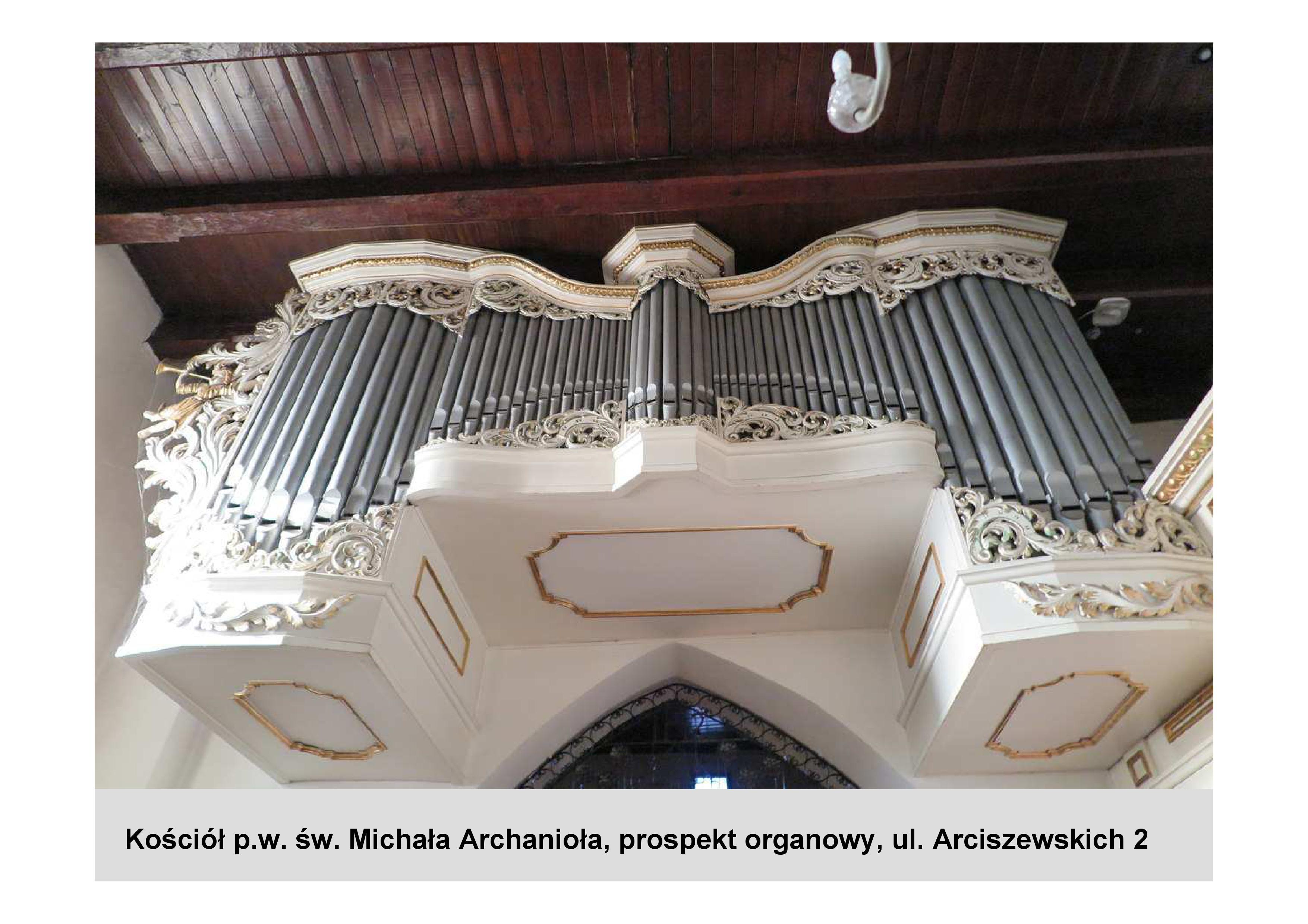 Kościół p. w. św. Michała Archanioła. Tu wyremontowany zostanie historyczny prospekt organowy, fot. materiały prasowe
