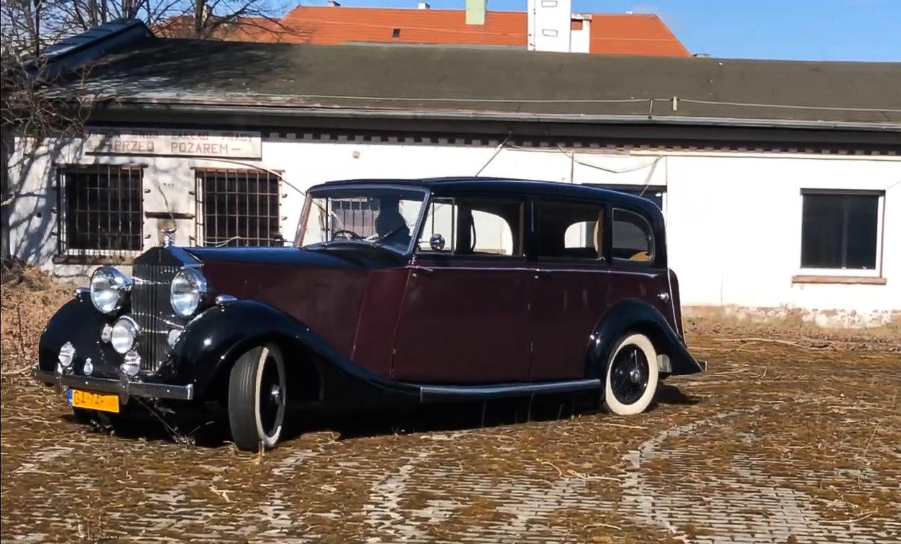 Rolls Royce Silver Wright, źródło: Gdyńskie Muzeum Motoryzacji