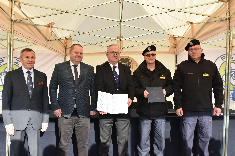 Uroczystość przekazania okrętu Marynarce Wojennej, fot. mat. prasowe