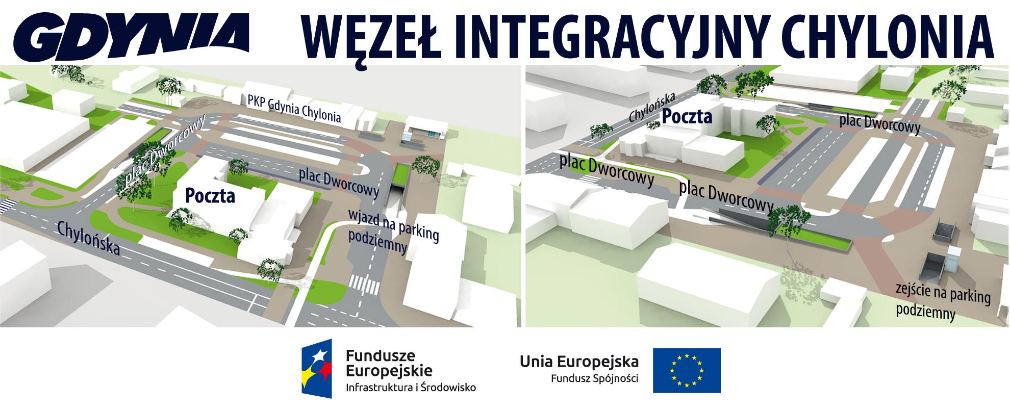 Węzeł integracyjny Gdynia Chylonia, mat. własne UM