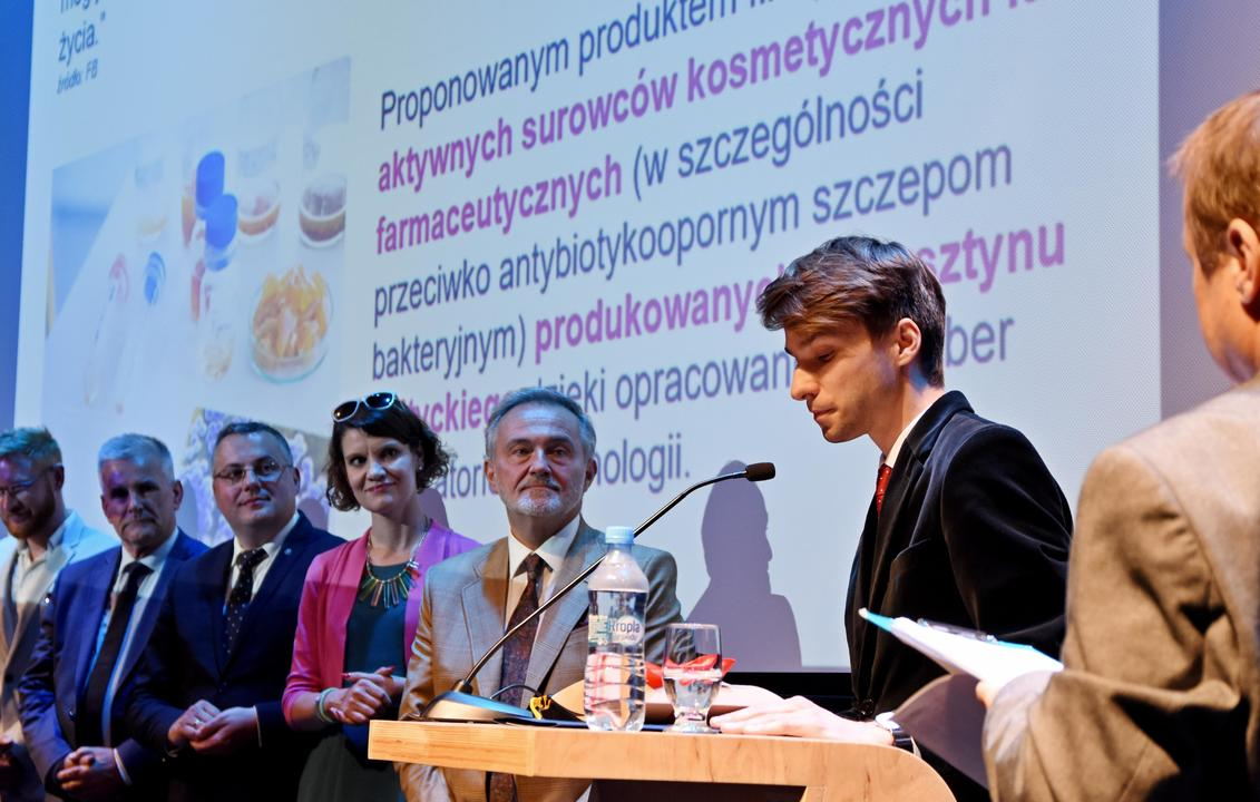 Igor Kaczmarczyk - zwycięzca tegorocznej edycji, fot. Kamil Złoch