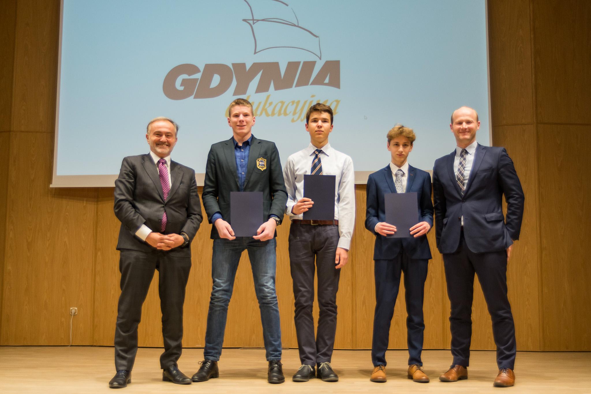 Nagrodzeni gimnazjaliści, fot. Anna Bobrowska