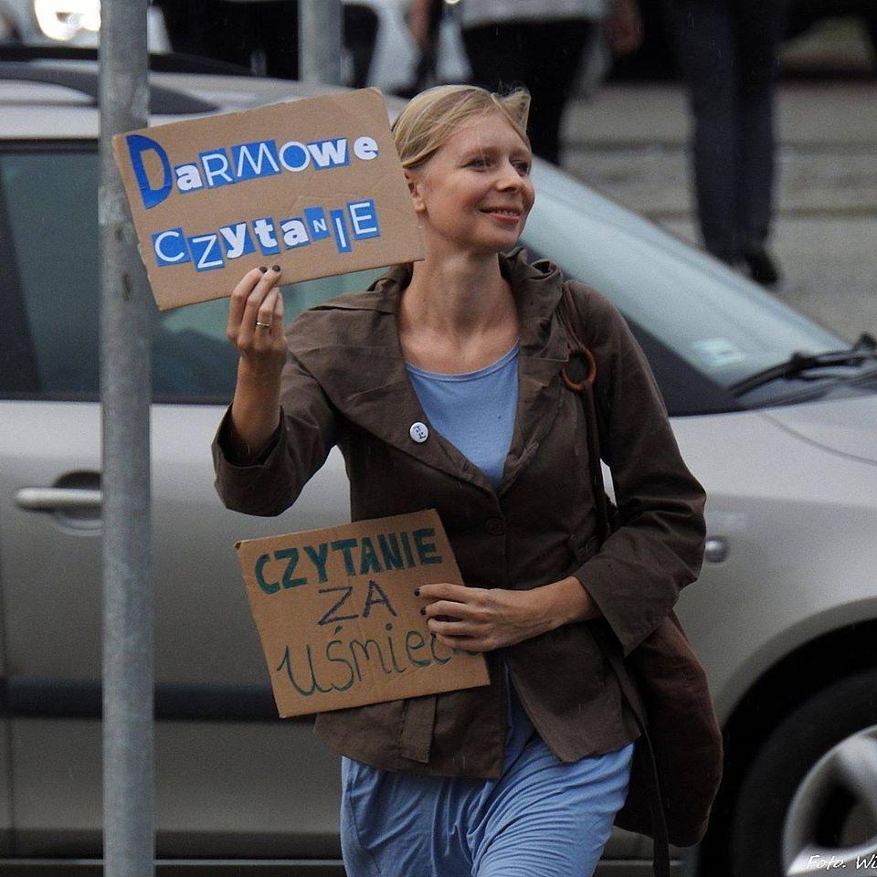 Zuzanna Gajewska, źródło: www.facebook.com/Promotorkaczytelnictwa