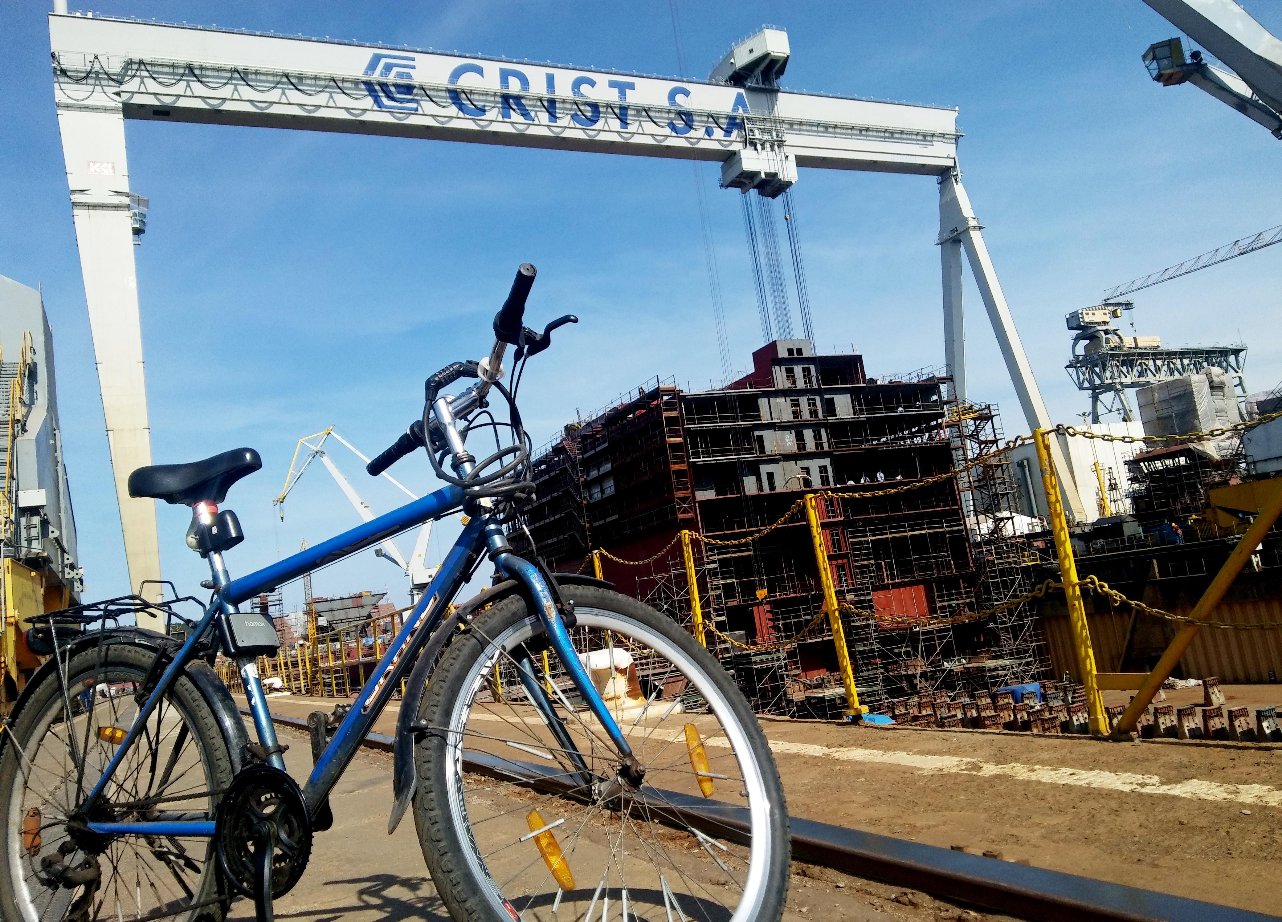 Na razie wśród firm prowadzi stocznia Crist, fot. S. Arciszewski