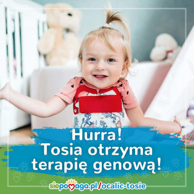 Wesoła Tosia Popławska. Fot. archiwum rodzinne