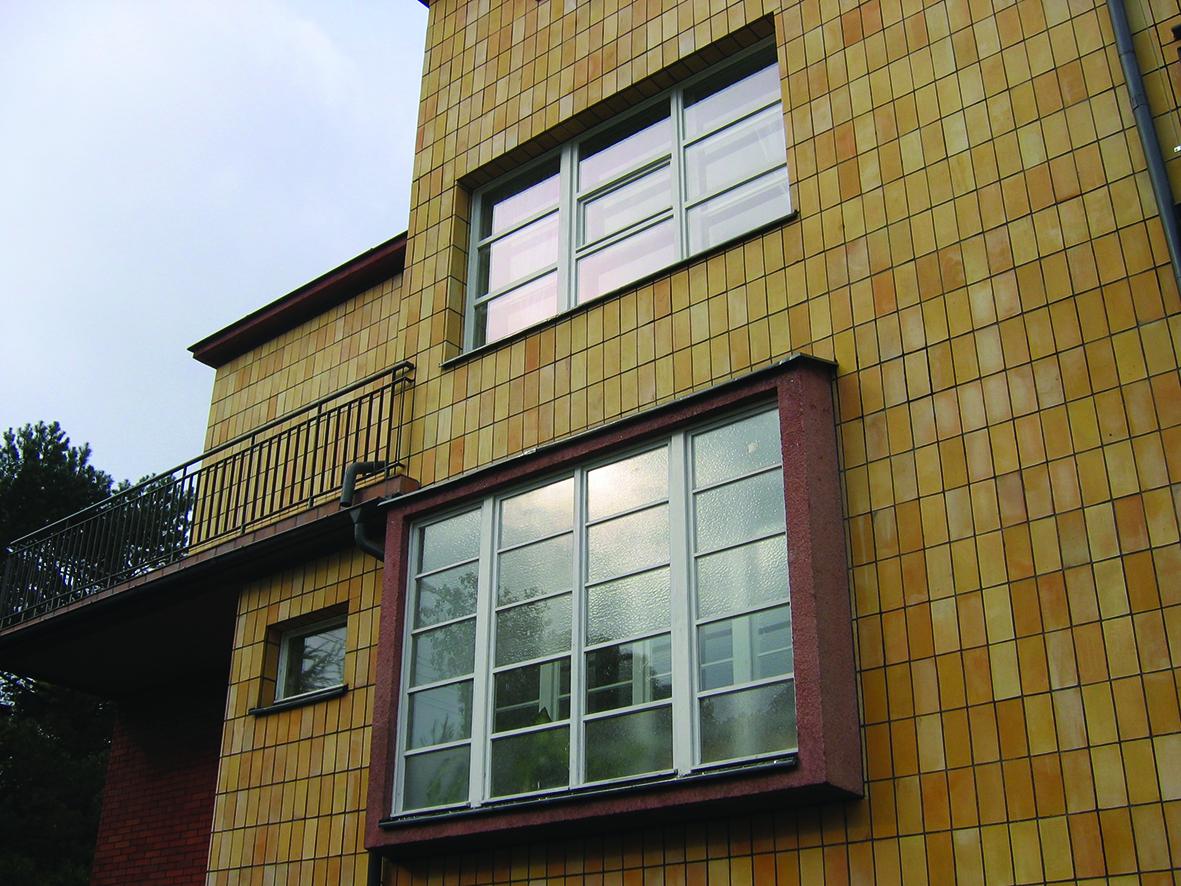 okna willi przy Inżynierskiej