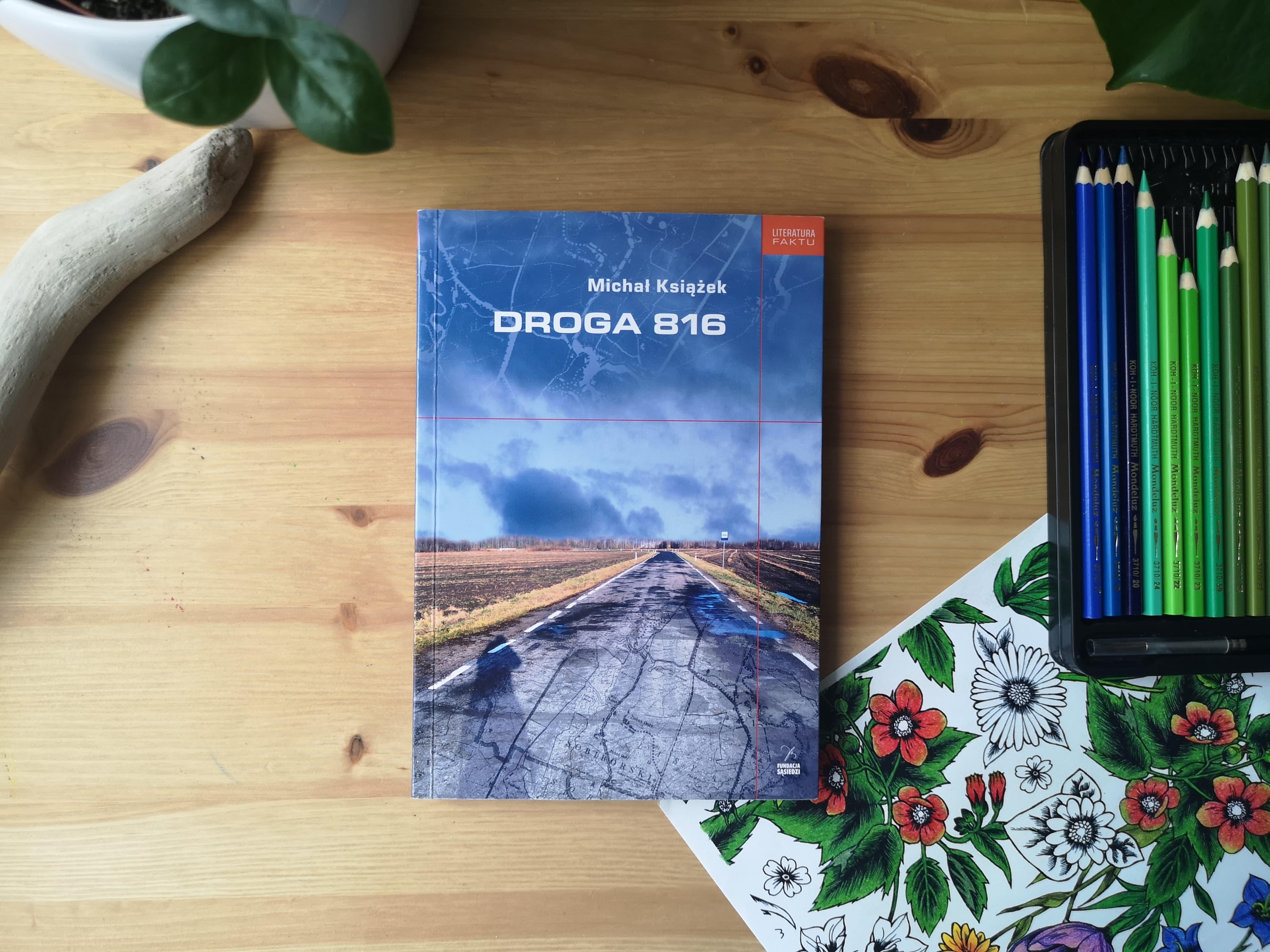 """""""Droga 816"""" Michał Książek. Fot. Archiwum Biblioteki Gdynia"""
