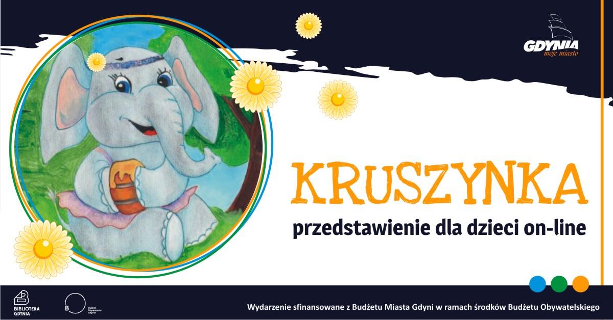 Kruszynka – przedstawienie dla dzieci, źródło: Biblioteka Gdynia
