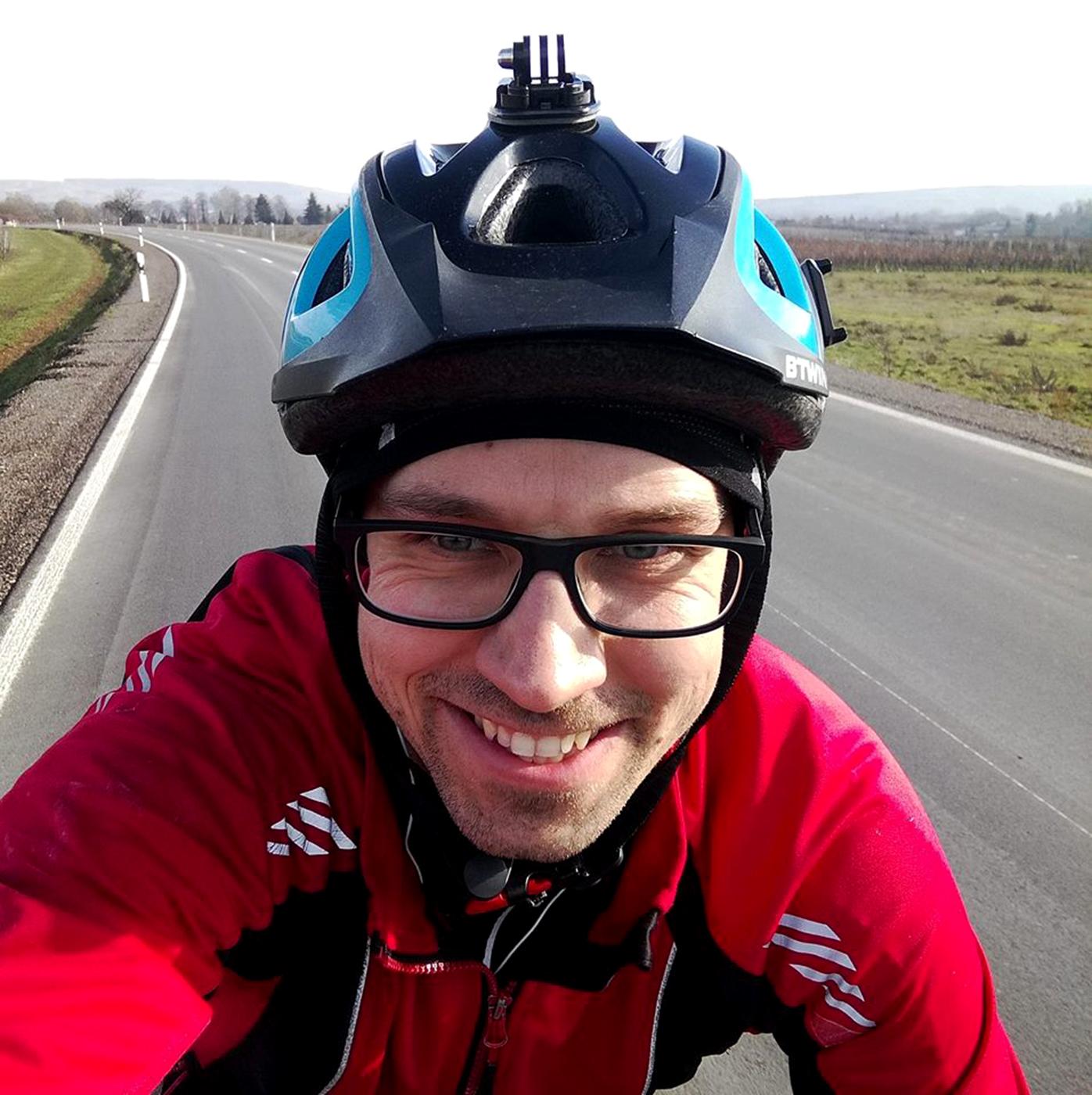 Tomasz Boryński/fot. FB Tomek na rowerze