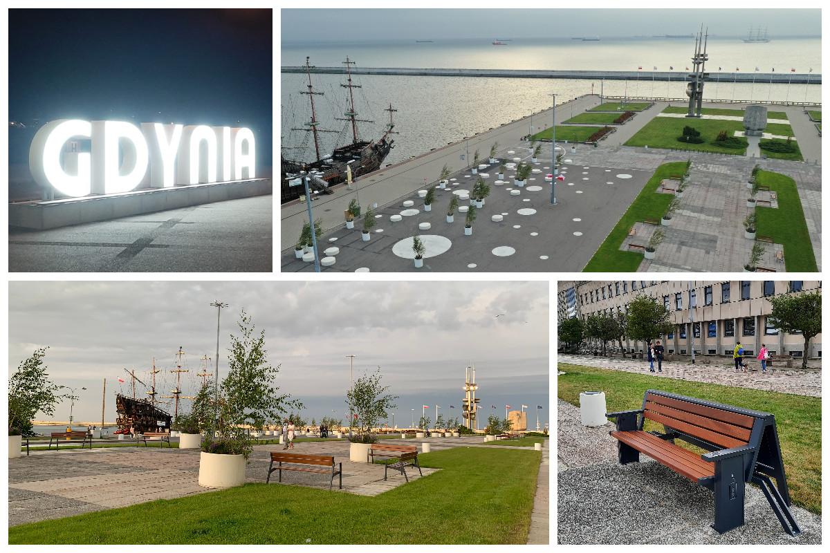 Tak po metamorfozie w ramach KLIMATycznego Centrum wygląda końcowy fragment Molo Południowego, fot. ZDiZ w Gdyni