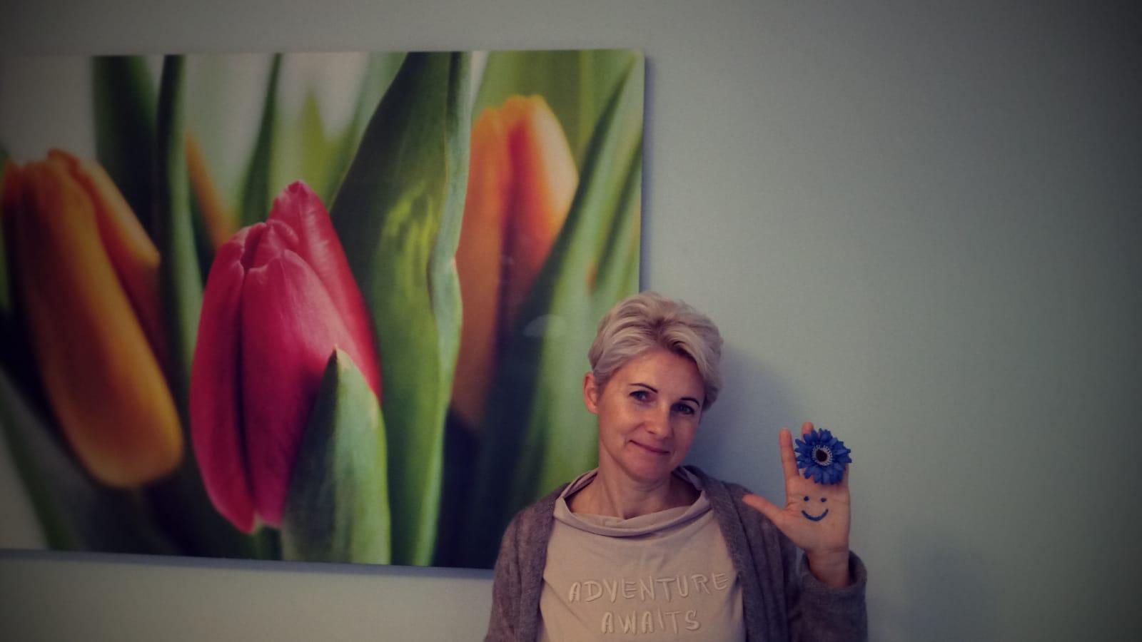 Akcję wspiera również Zuzanna Stec, kierownik Zespołu do Spraw Rodzinnej Pieczy Zastępczej MOPS w Gdyni // fot. materiały MOPS Gdynia
