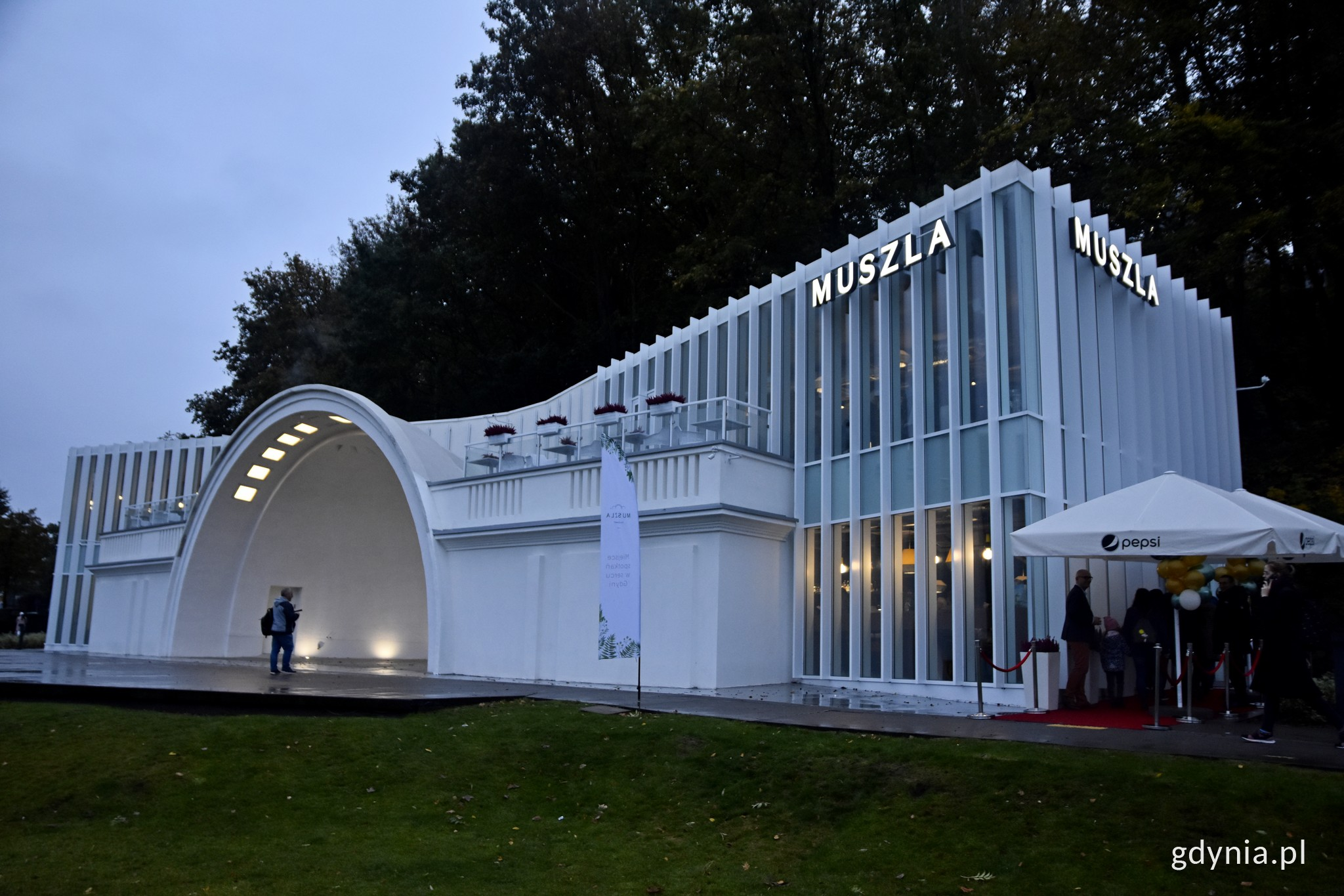 Restauracja Muszla, fot. Paweł Kukla