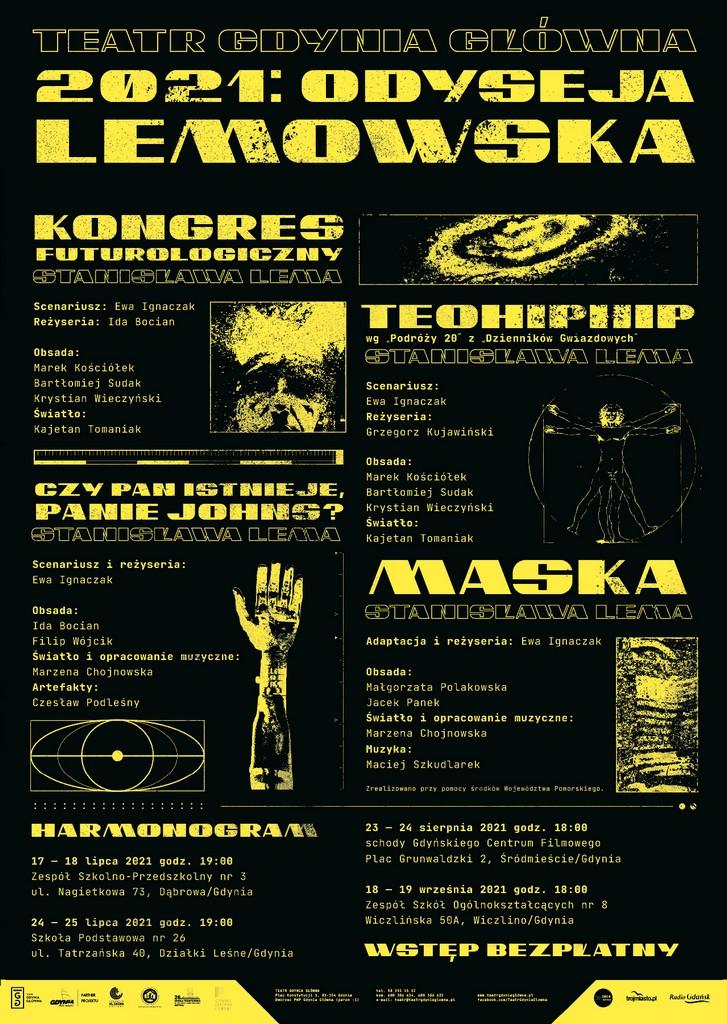 2021: Odyseja Lemowska – spektakle teatralne
