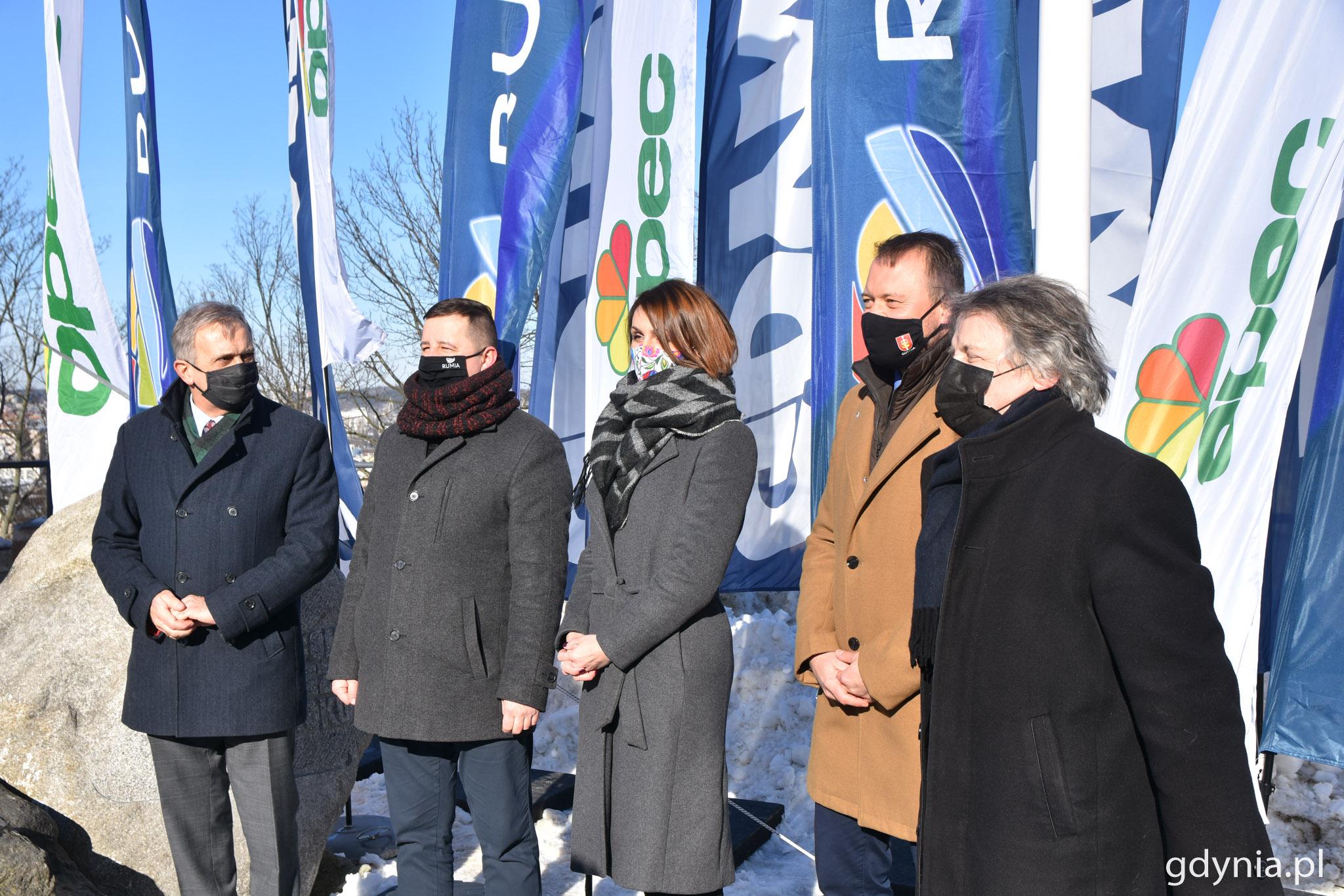 Porozumienie podpisali przedstawiciele Gdyni, Rumi, Wejherowa i gdyńskiego OPECu // fot. Magda Śliżewska