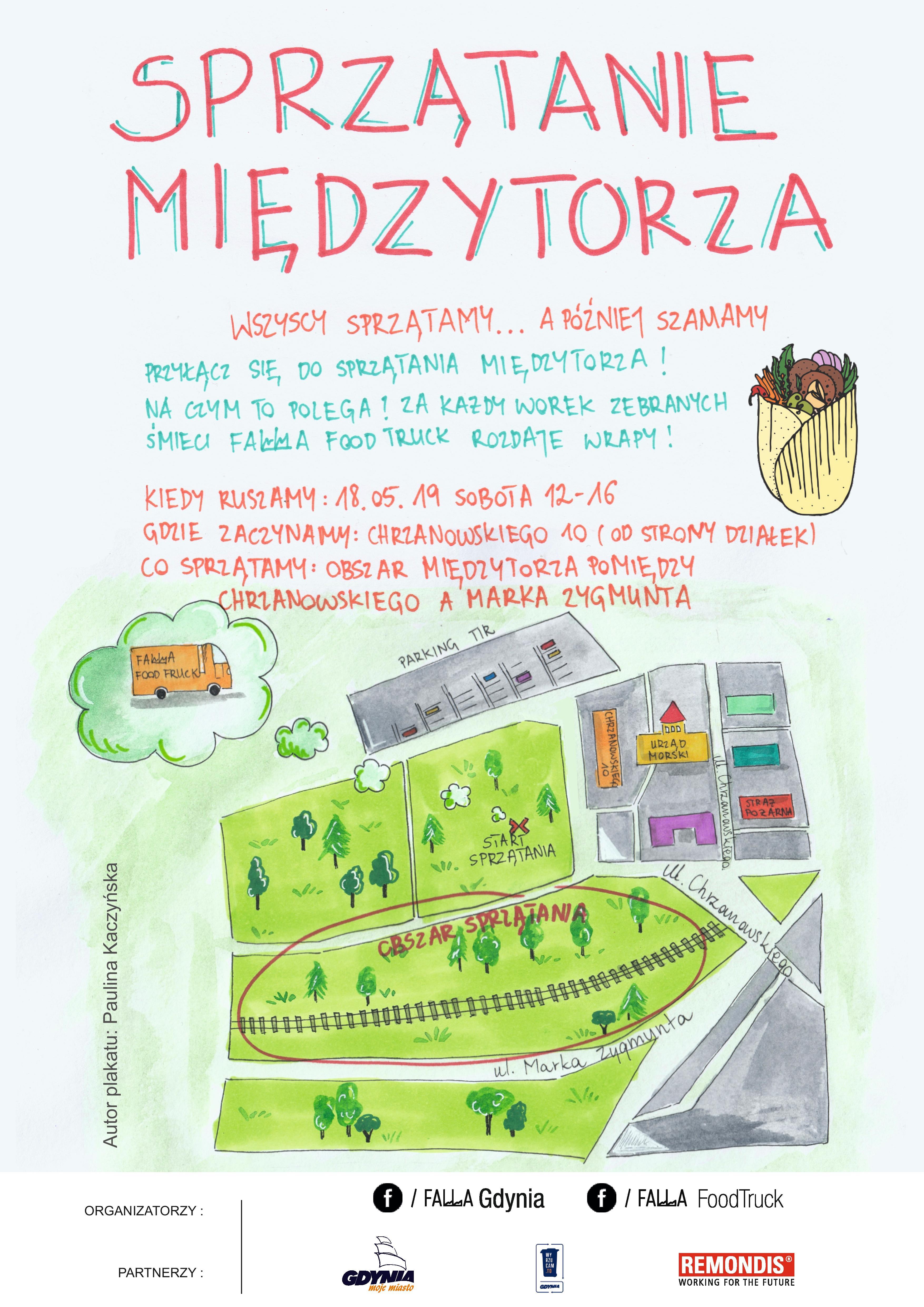 Plakat promujący wydarzenie, mat. prasowe