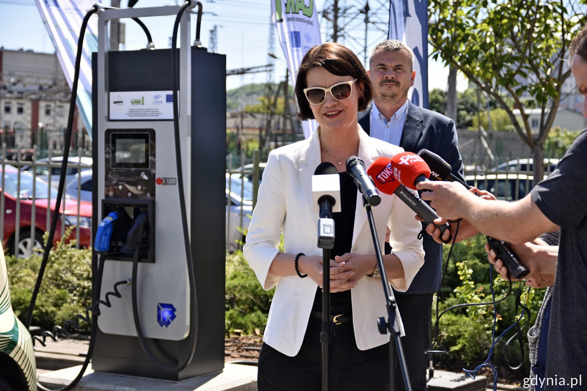 Na zdj. Katarzyna Gruszecka-Spychała, wiceprezydent Gdyni ds. gospodarki na konferencji w PKT, fot. Paweł Kukla