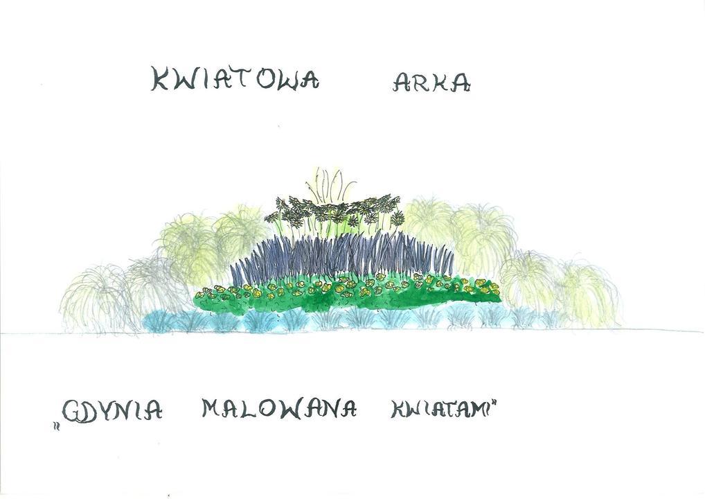 I miejsce, Maria Kaliszewska, Gdynia Malowana Kwiatami - kategoria klasy IV-VI