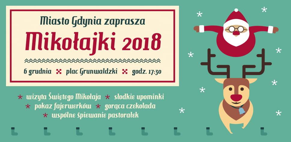 Dotarły do nas doniesienia, że Mikołaj w swoje święto wybiera się właśnie do Gdyni! Spotka się z nami 6 grudnia o godz. 17:30 na Placu Grunwaldzkim, fot. materiały prasowe