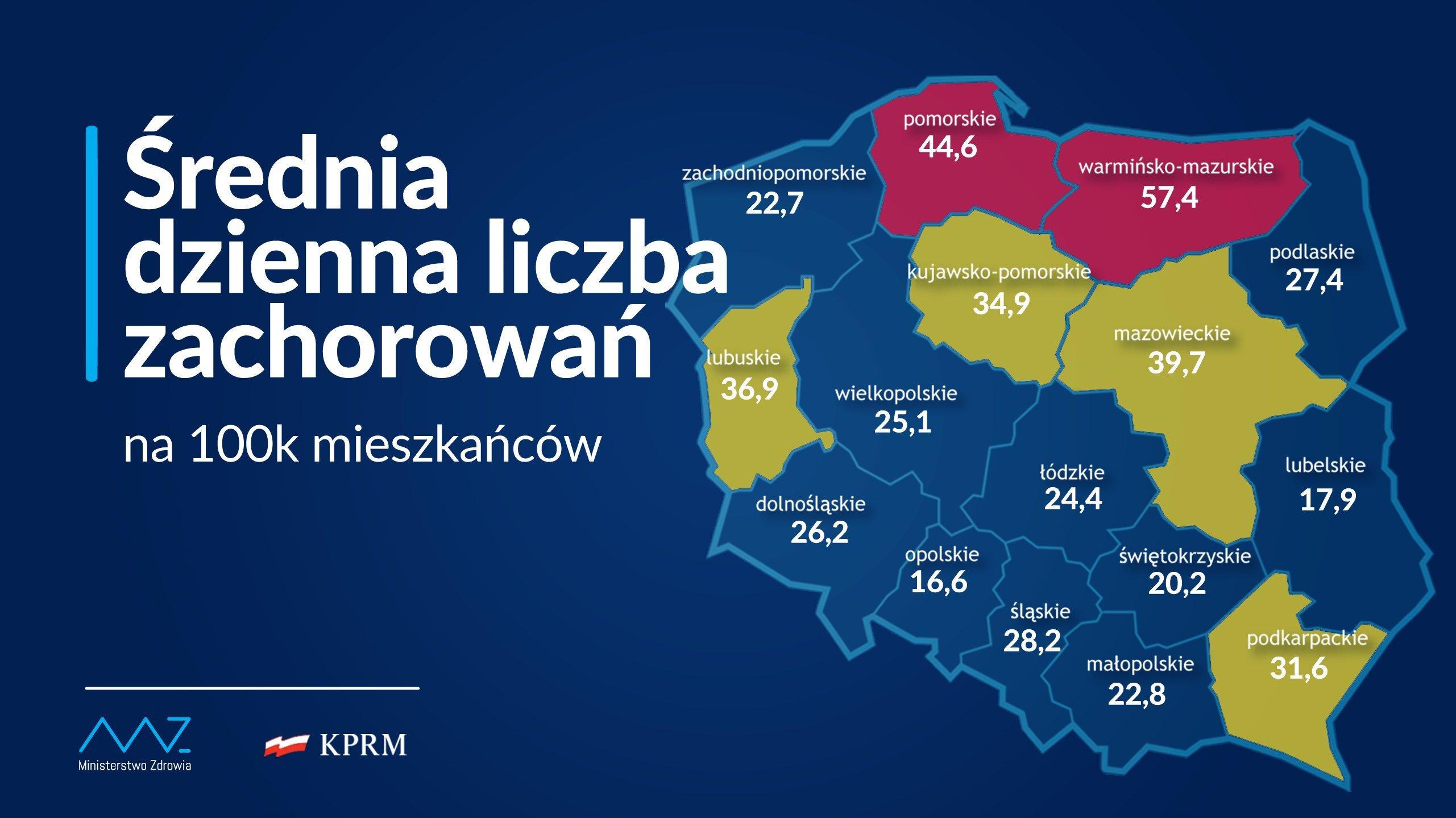 Obostrzenia zostają przywrócone na podstawie wzrostu zakażeń, jakie odnotowano w ostatnim czasie w naszym regionie // fot. Kancelaria Prezesa Rady Ministrów