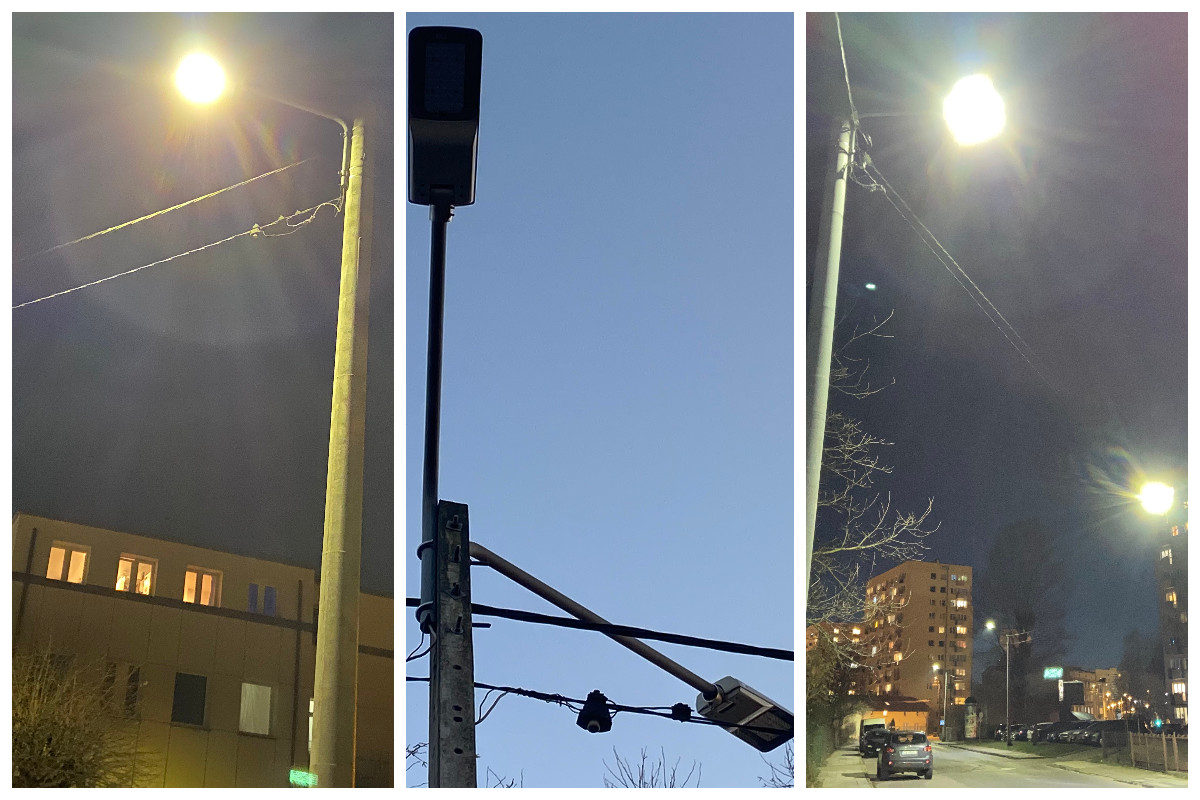 Tak wyglądają energooszczędne oprawy LED // fot. ZDiZ
