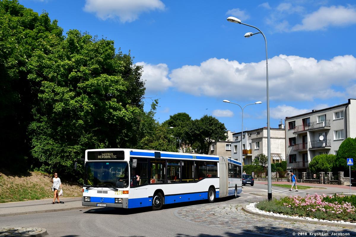 Pzegubowy autobus marki Mercedes-Benz O405GN2, nr inwentarzowy 7275, fot. mat. prasowe