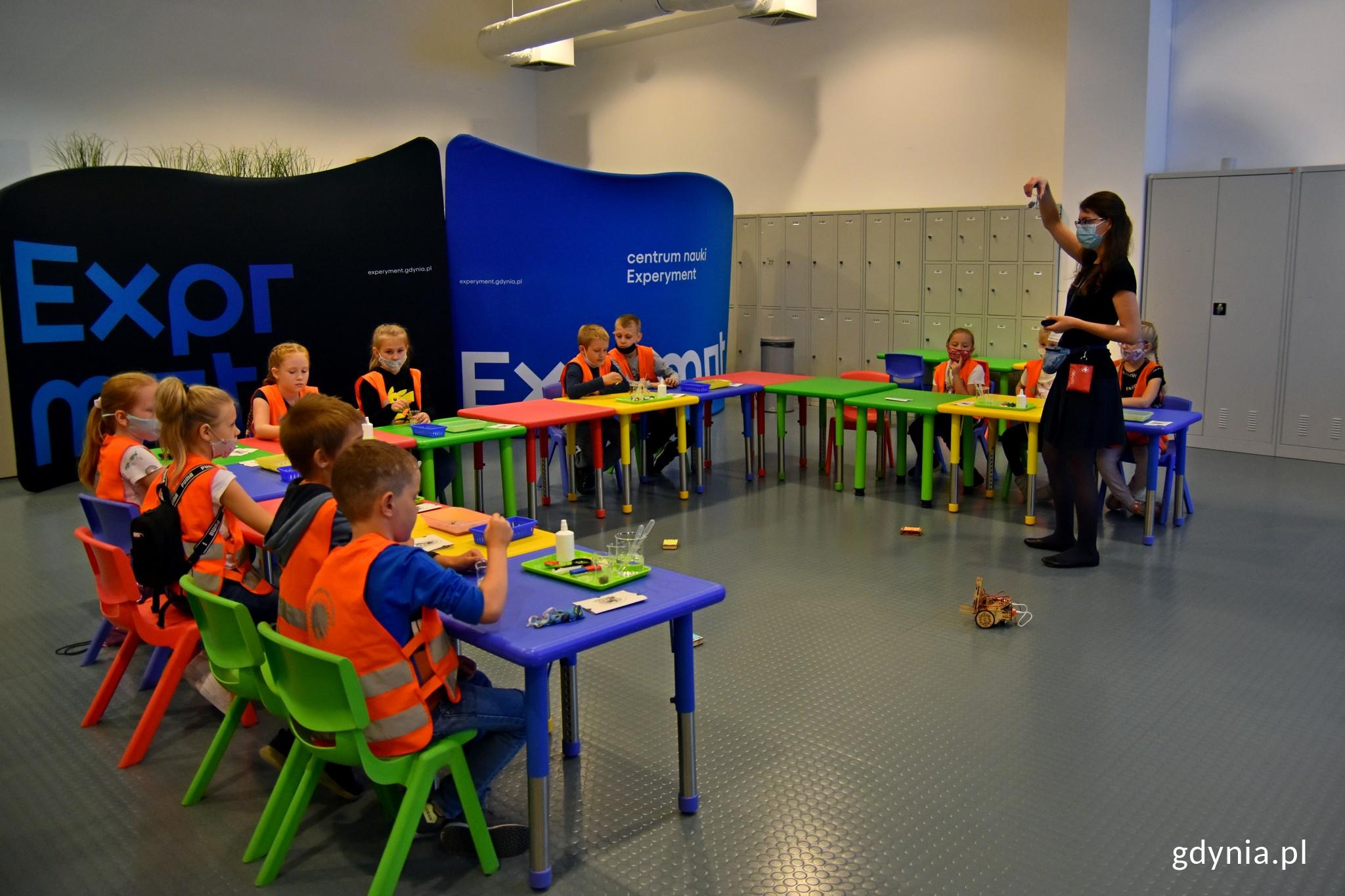 Zajęcia edukacyjne w Centrum Nauki Experyment // fot. Magdalena Czernek