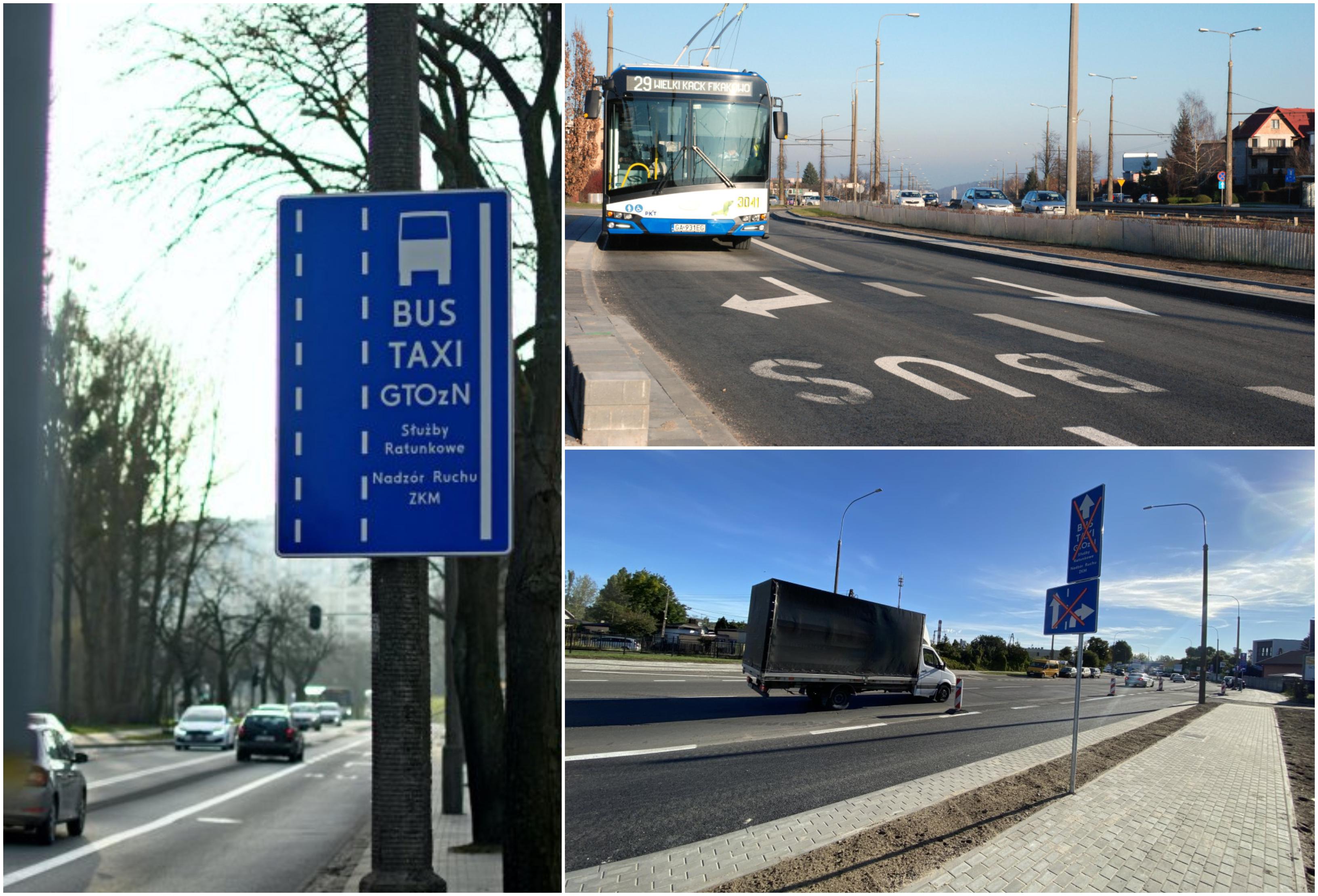 W 2020 roku w Gdyni pojawiło się kilka nowych buspasów, m.in. w ulicy Rolniczej, Wielkopolskiej i Hutniczej