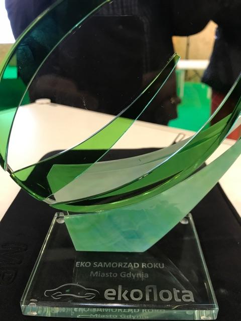 Gdynia wyróżniona nagrodą w kategorii Eko-Samorząd roku.