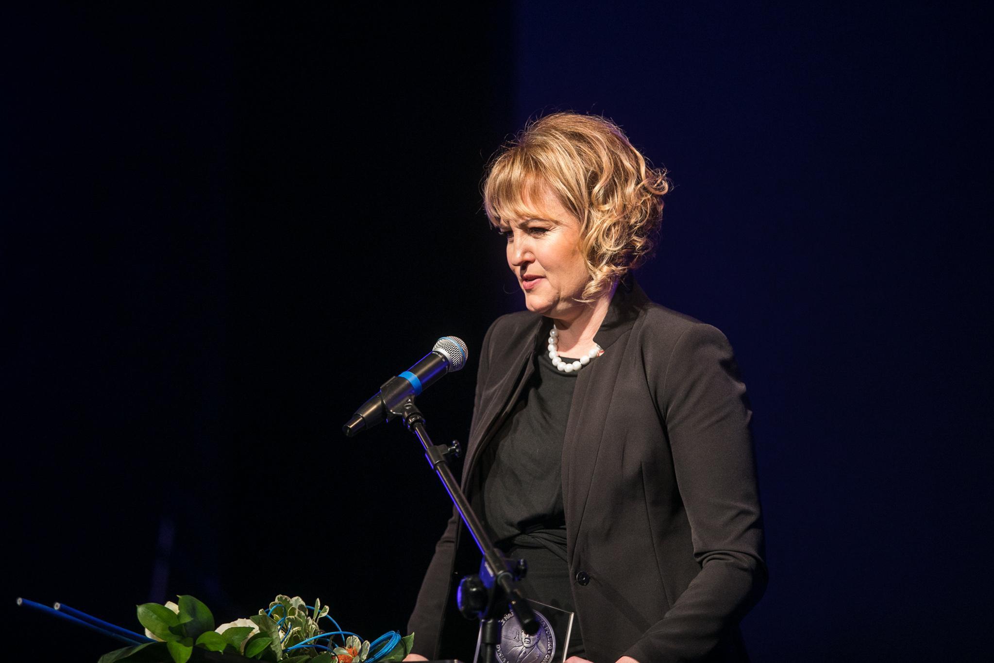 Monika Płocke, laureatka medalu im. Eugeniusza Kwiatkowskiego // fot. Karol Stańczak
